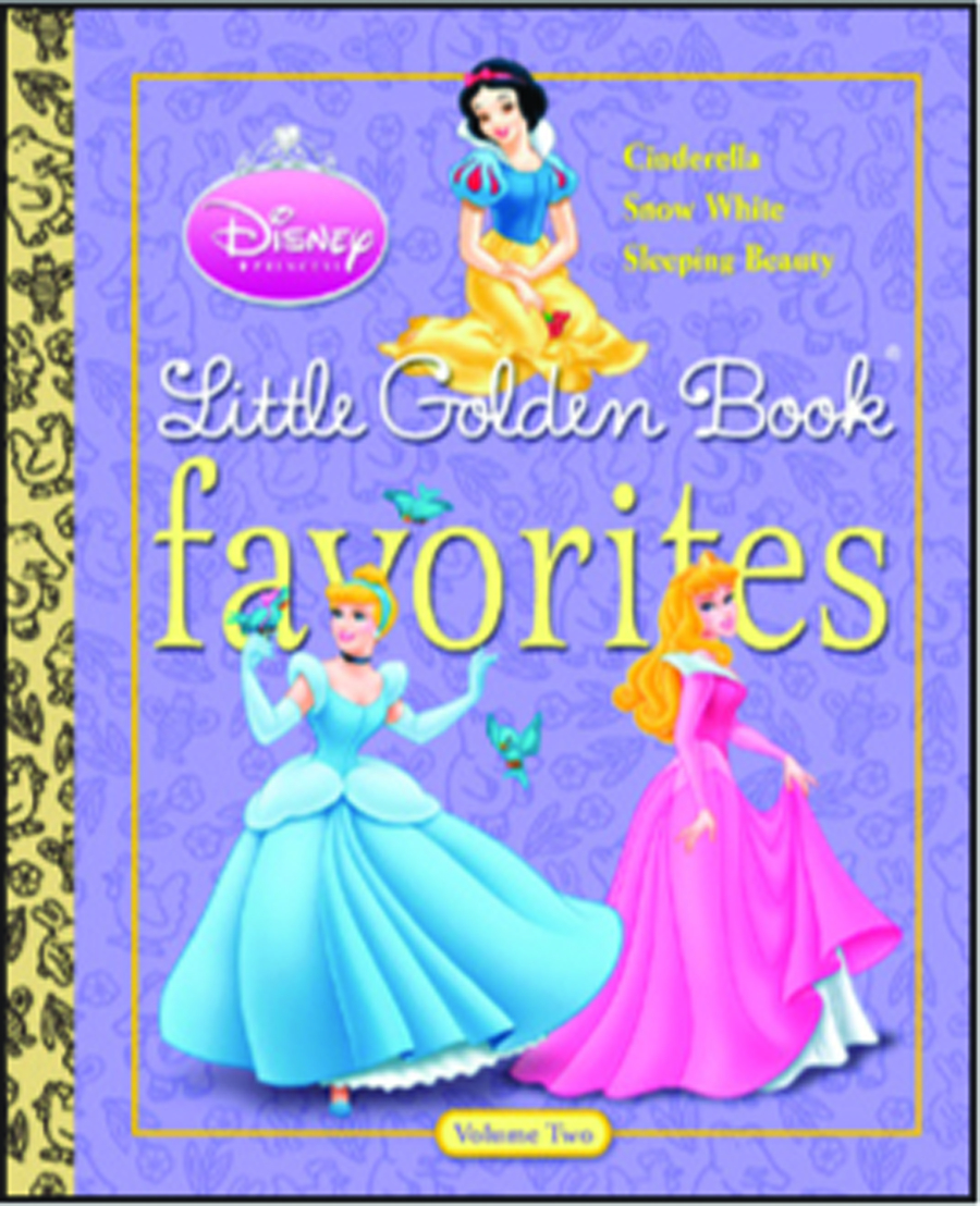 DISNEY PRINCESS LITTLE GOLDEN BOOK FAVORITES #2