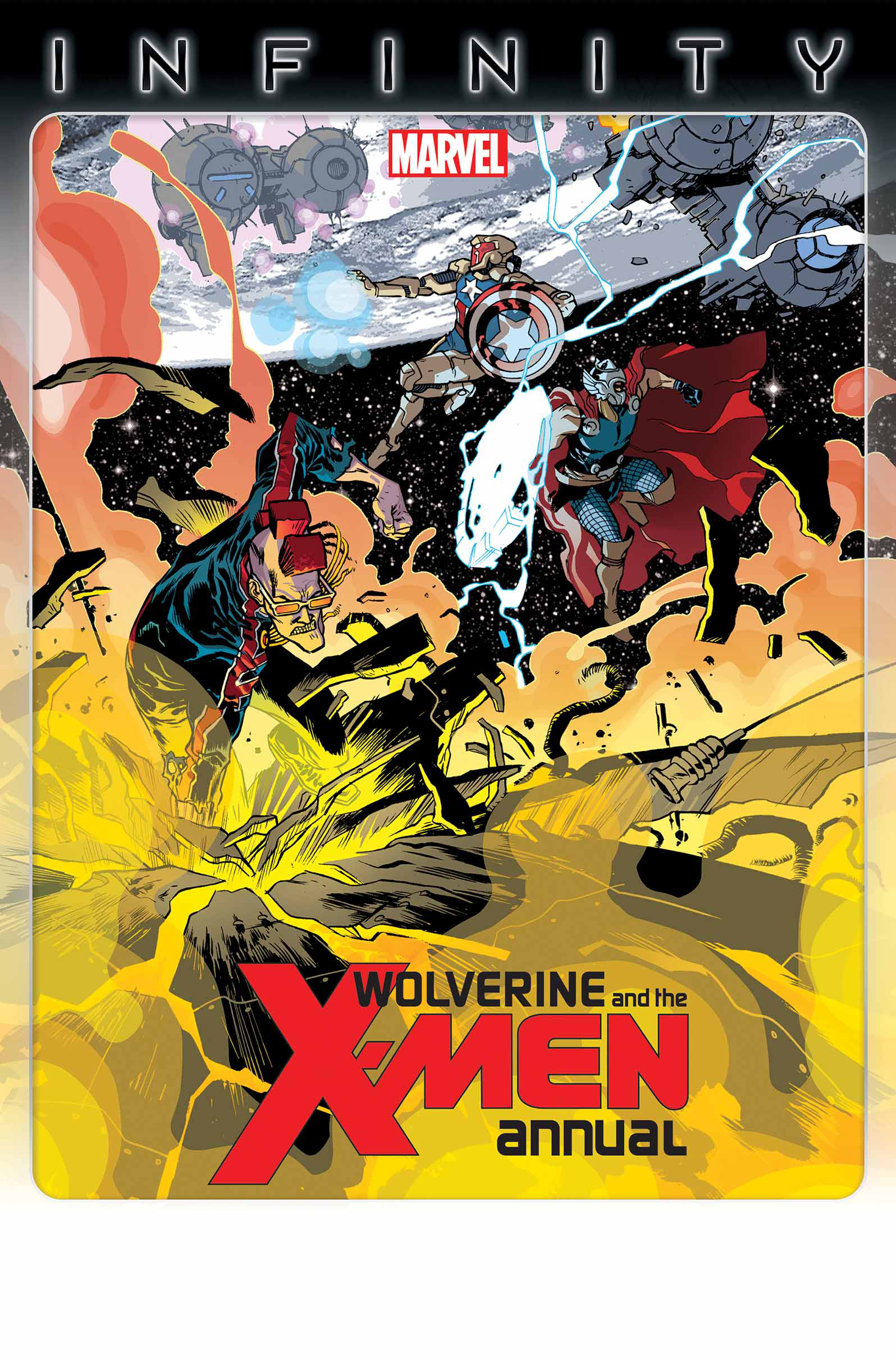 WOLVERINE AND X-MEN ANNUAL #1 INF