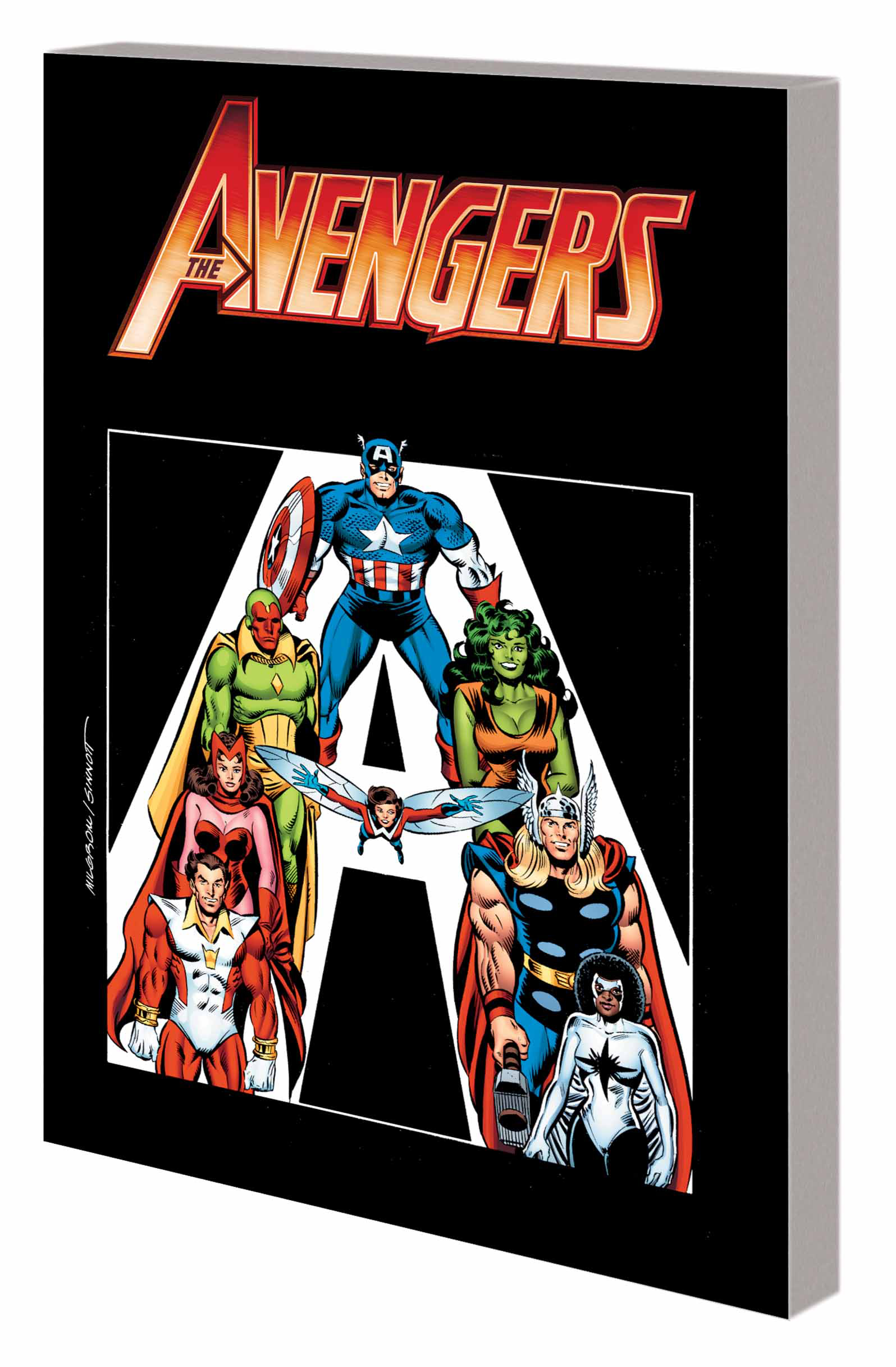AVENGERS TP BOOK 01 ABSOLUTE VISION