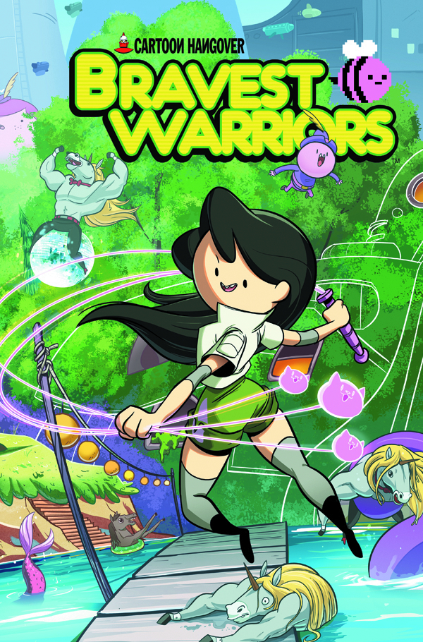 BRAVEST WARRIORS #14 MAIN CVRS