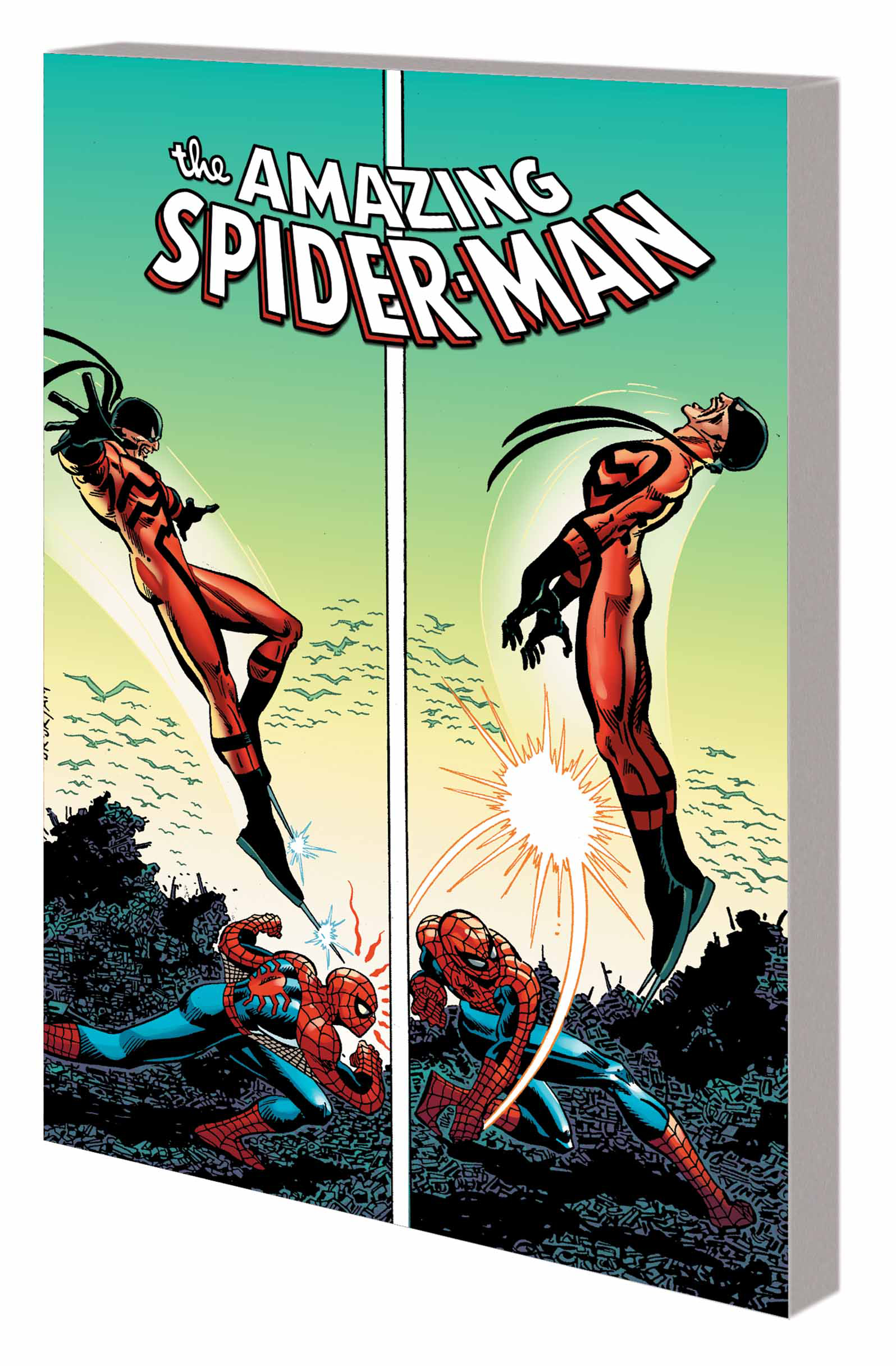 SPIDER-MAN MARK OF TARANTULA TP