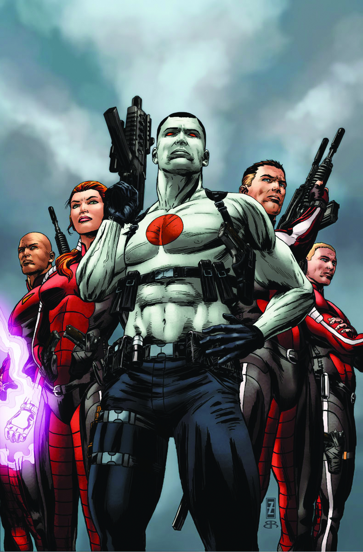 BLOODSHOT & HARD CORPS #16 REG ZIRCHER