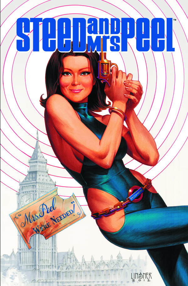 STEED & MRS PEEL TP VOL 02 SECRET HISTORY OF SPACE