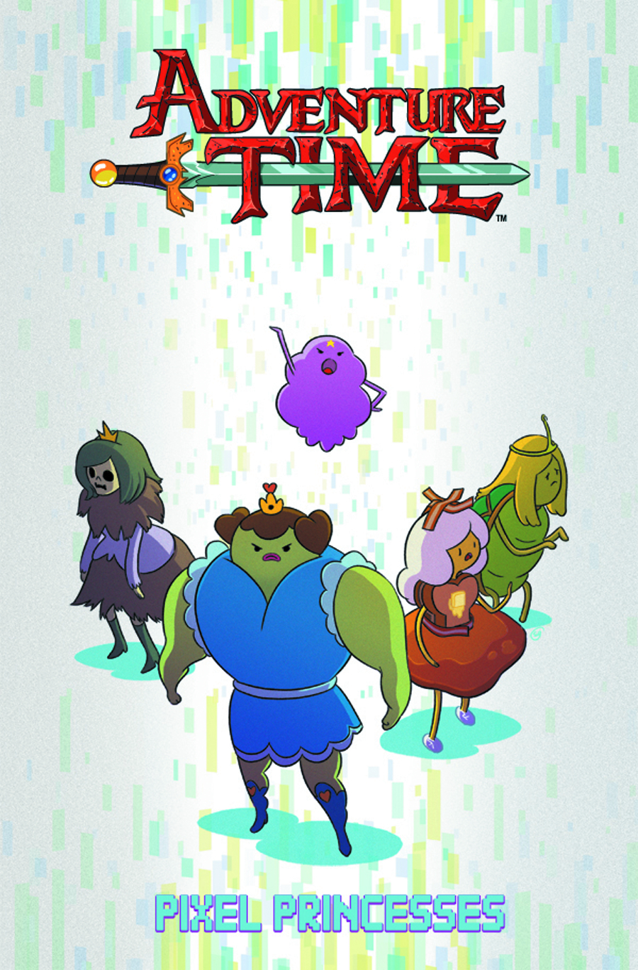ADVENTURE TIME ORIGINAL GN VOL 02 PIXEL PRINCESSES