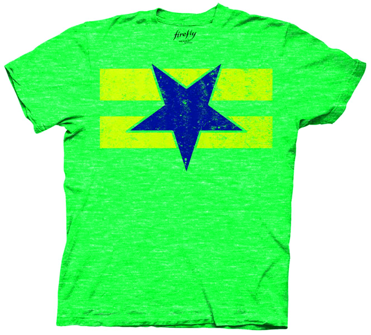 FIREFLY BROWNCOATS FLAG GREEN T/S LG