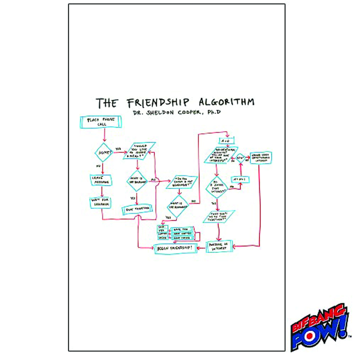 BIG BANG THEORY FRIENDSHIP ALGORITHM JOURNAL