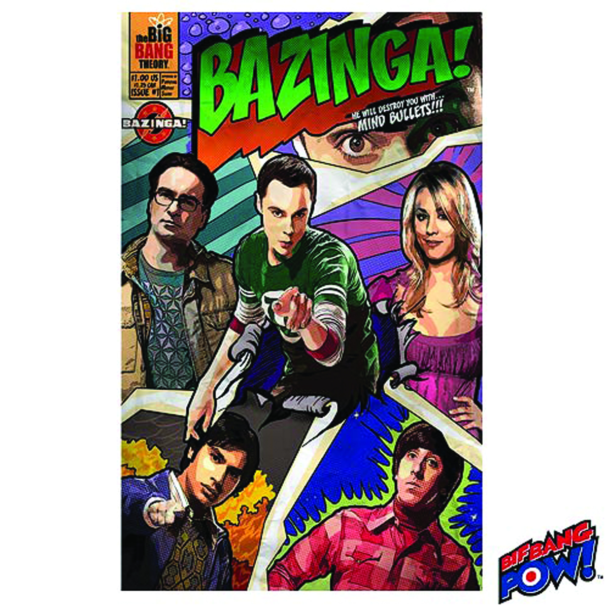 BIG BANG THEORY BAZINGA JOURNAL