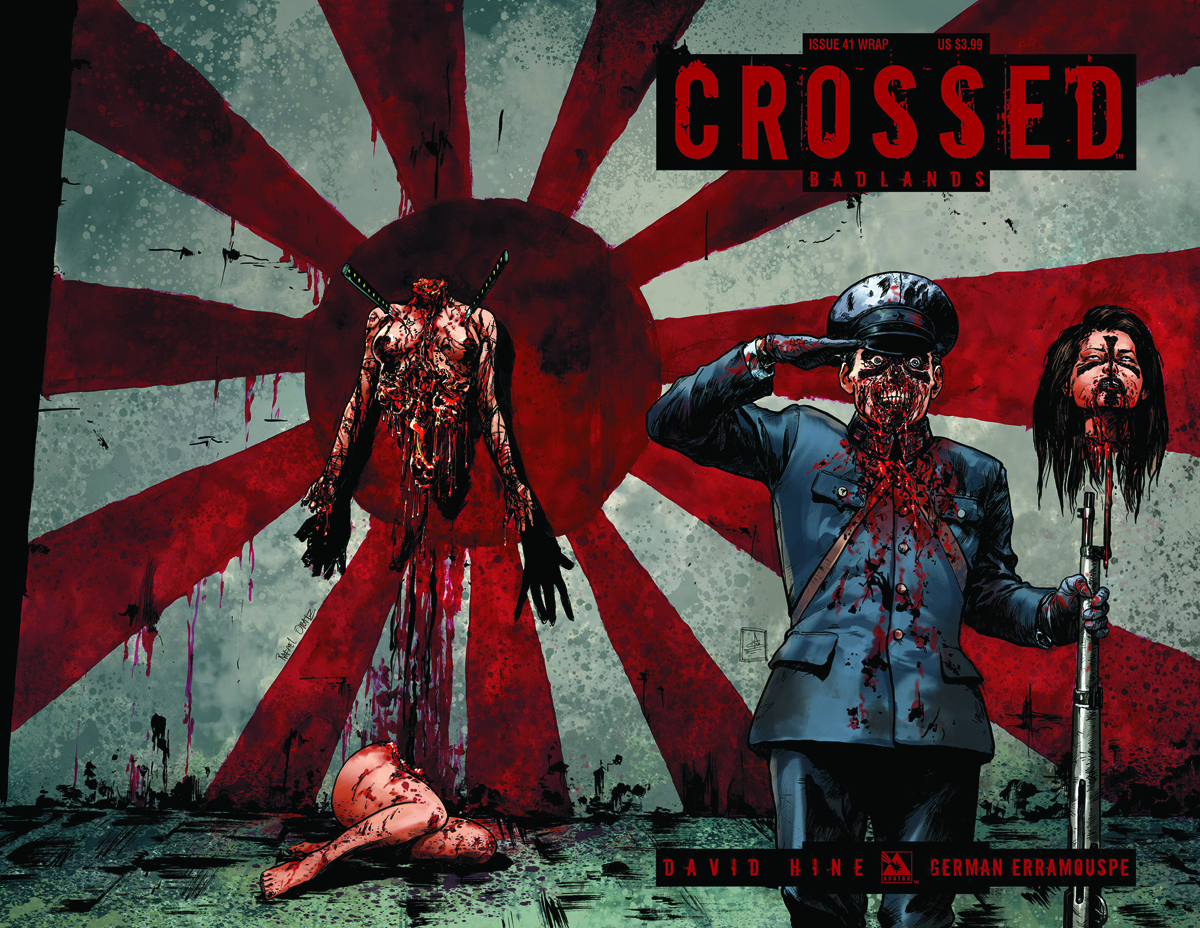 CROSSED BADLANDS #41 WRAP CVR