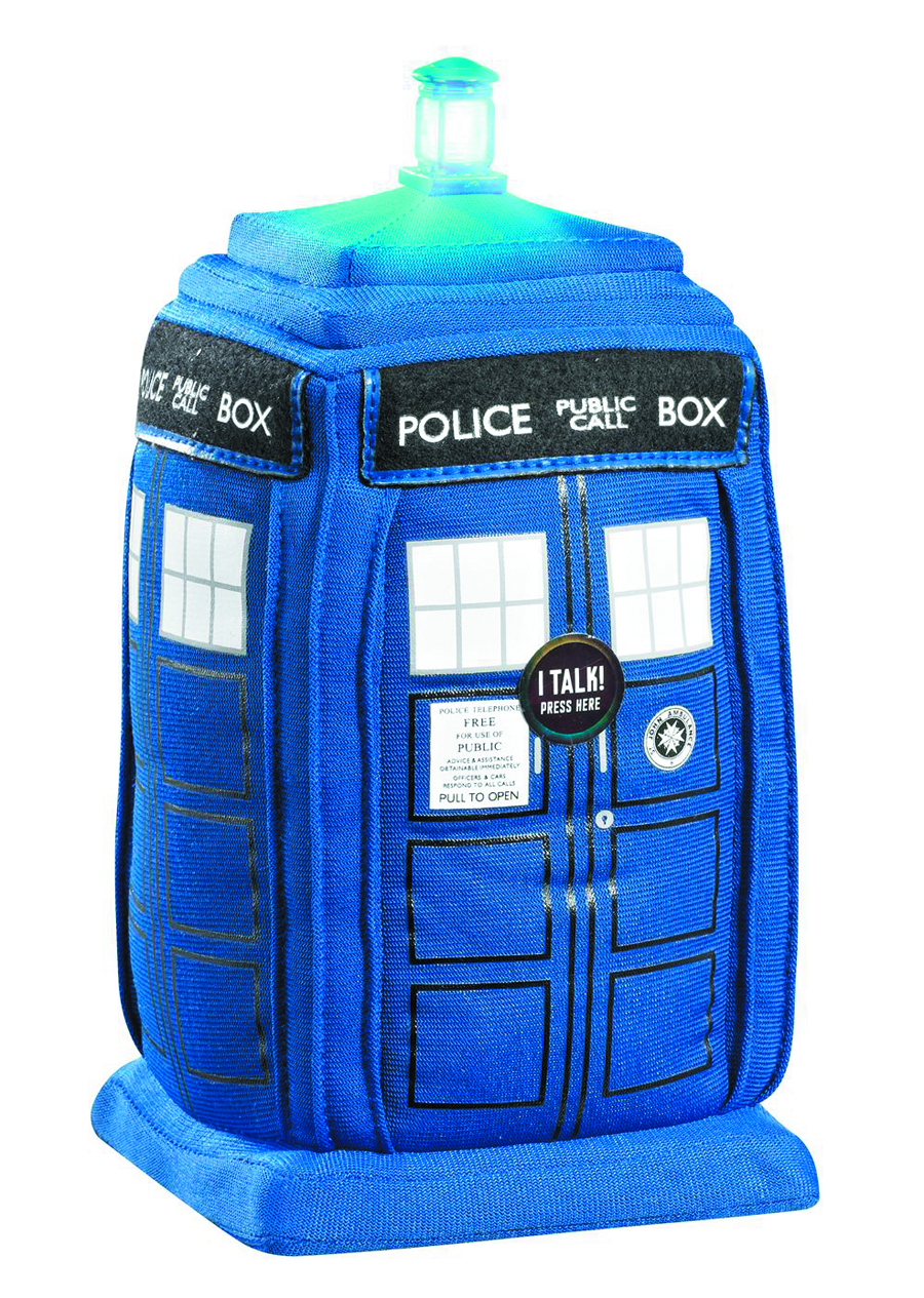 DOCTOR WHO TARDIS 15IN DLX PLUSH W/SOUND
