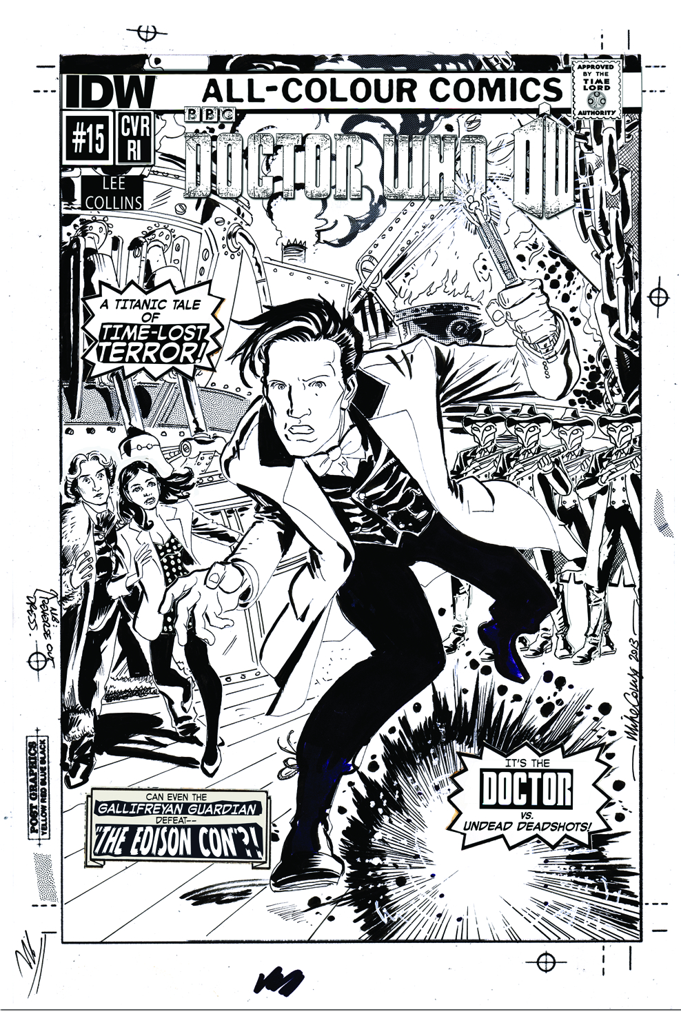 DOCTOR WHO VOL 3 #15 FREE 10 COPY INCV
