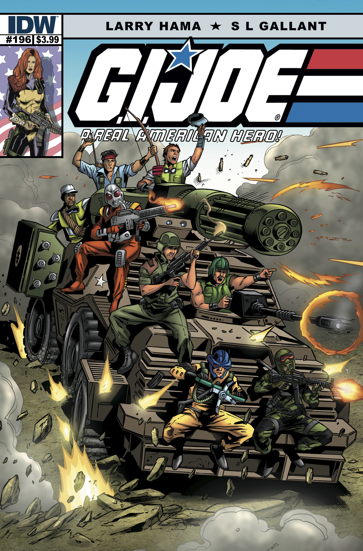 GI JOE A REAL AMERICAN HERO #196