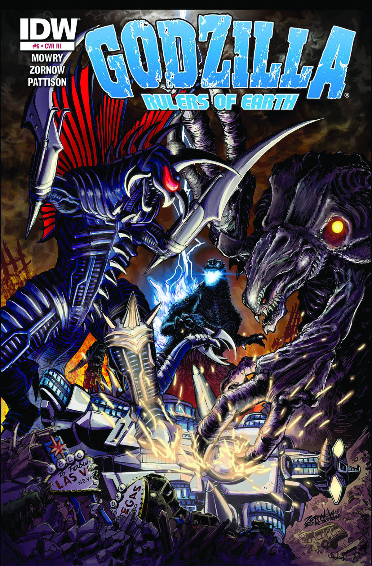 GODZILLA RULERS OF THE EARTH #6