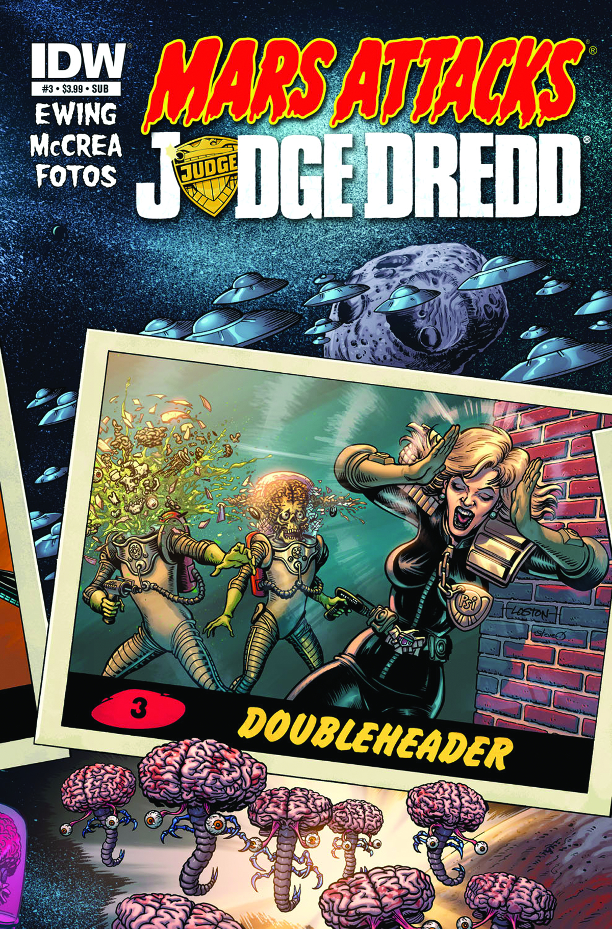 MARS ATTACKS JUDGE DREDD #3