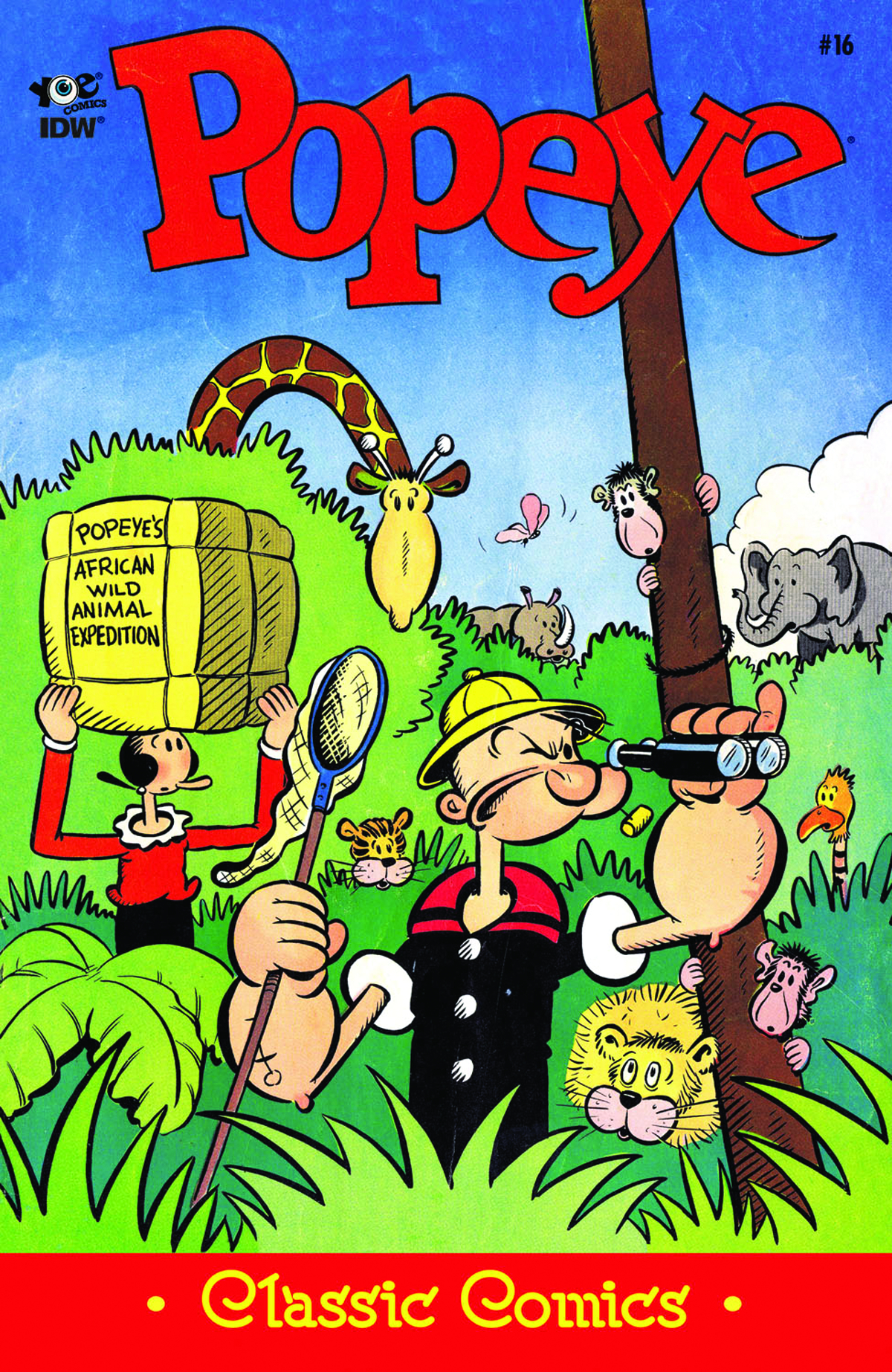POPEYE CLASSICS ONGOING #16