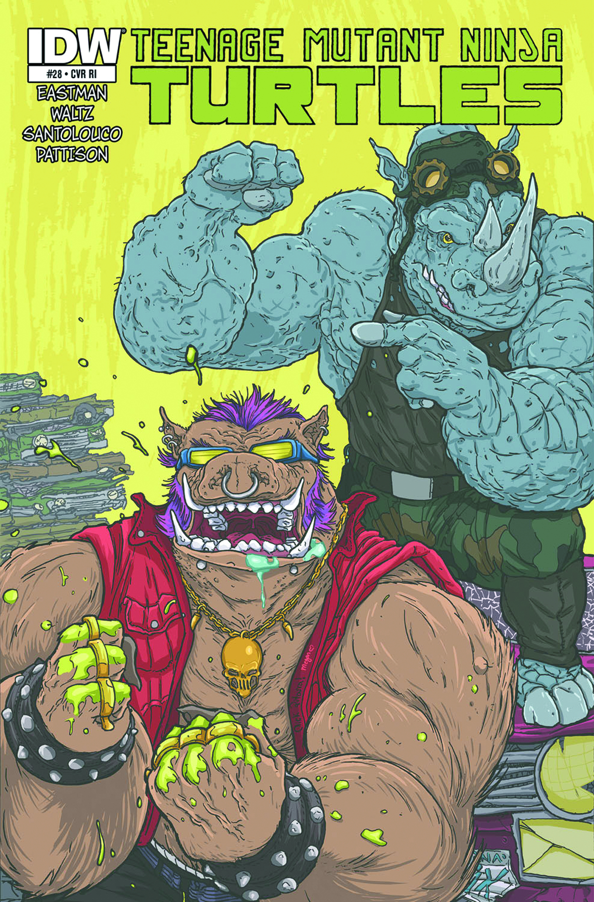TMNT ONGOING #28 FREE 10 COPY INCV