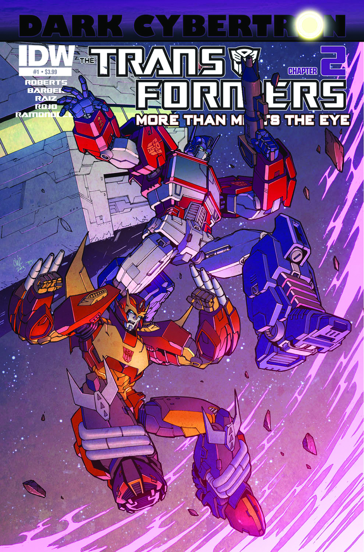 TRANSFORMERS MORE THAN MEETS EYE #23 DARK CYBERTRON PART 2