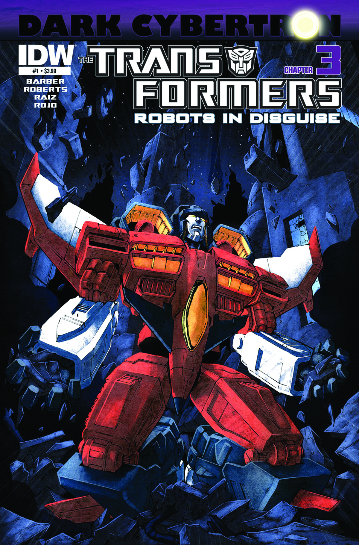 TRANSFORMERS ROBOTS IN DISGUISE #23 DARK CYBERTRON PART 3