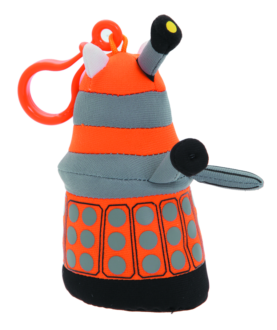 DOCTOR WHO ORANGE DALEK MINI TALKING PLUSH