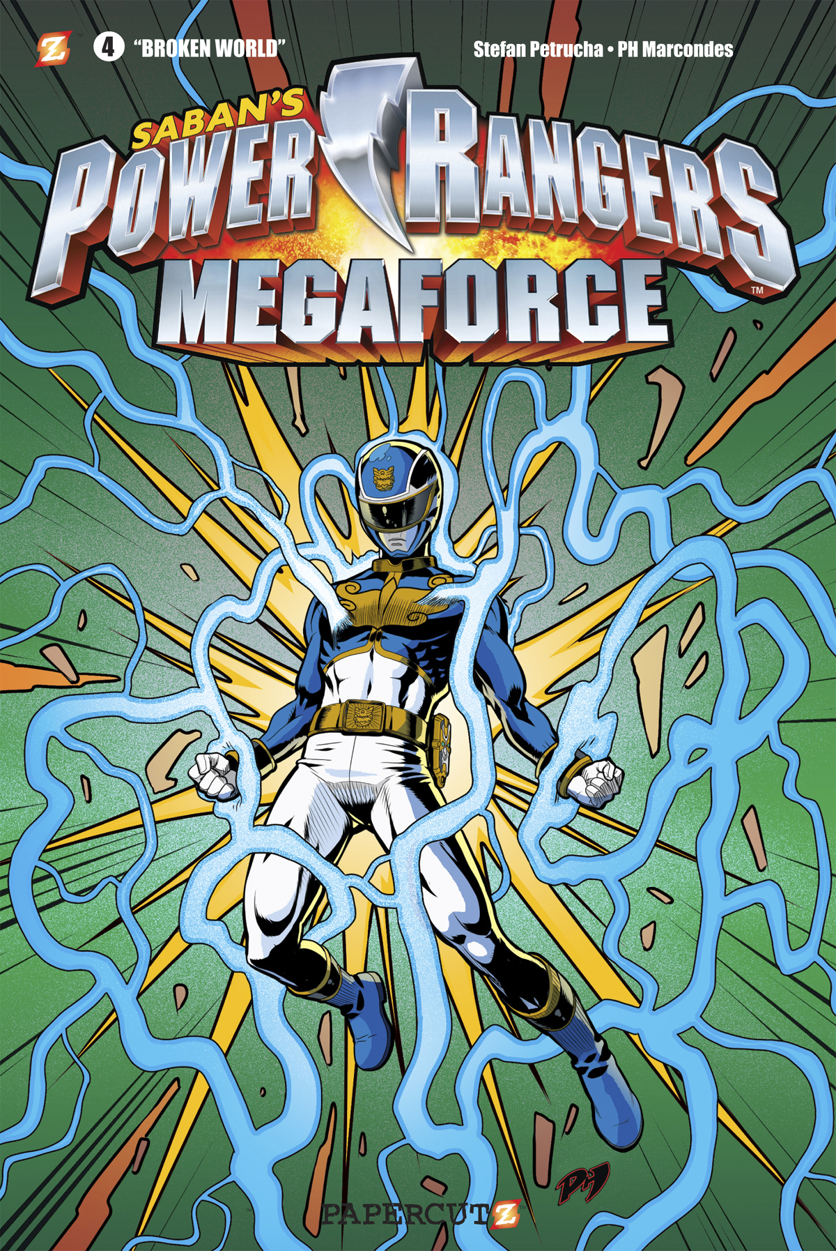 POWER RANGERS MEGAFORCE GN VOL 04 BROKEN WORLD