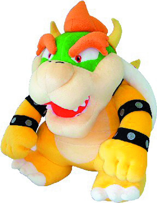 SUPER MARIO BROS BOWSER 16IN PLUSH