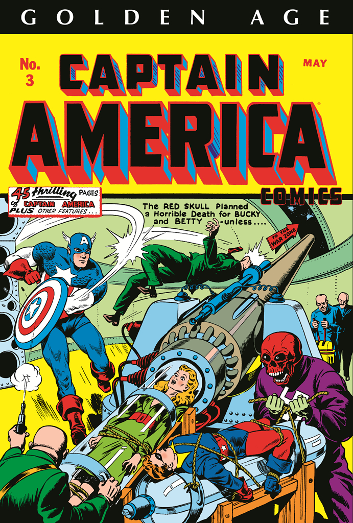 GOLDEN AGE CAPTAIN AMERICA OMNI HC VOL 01 DM VAR ED
