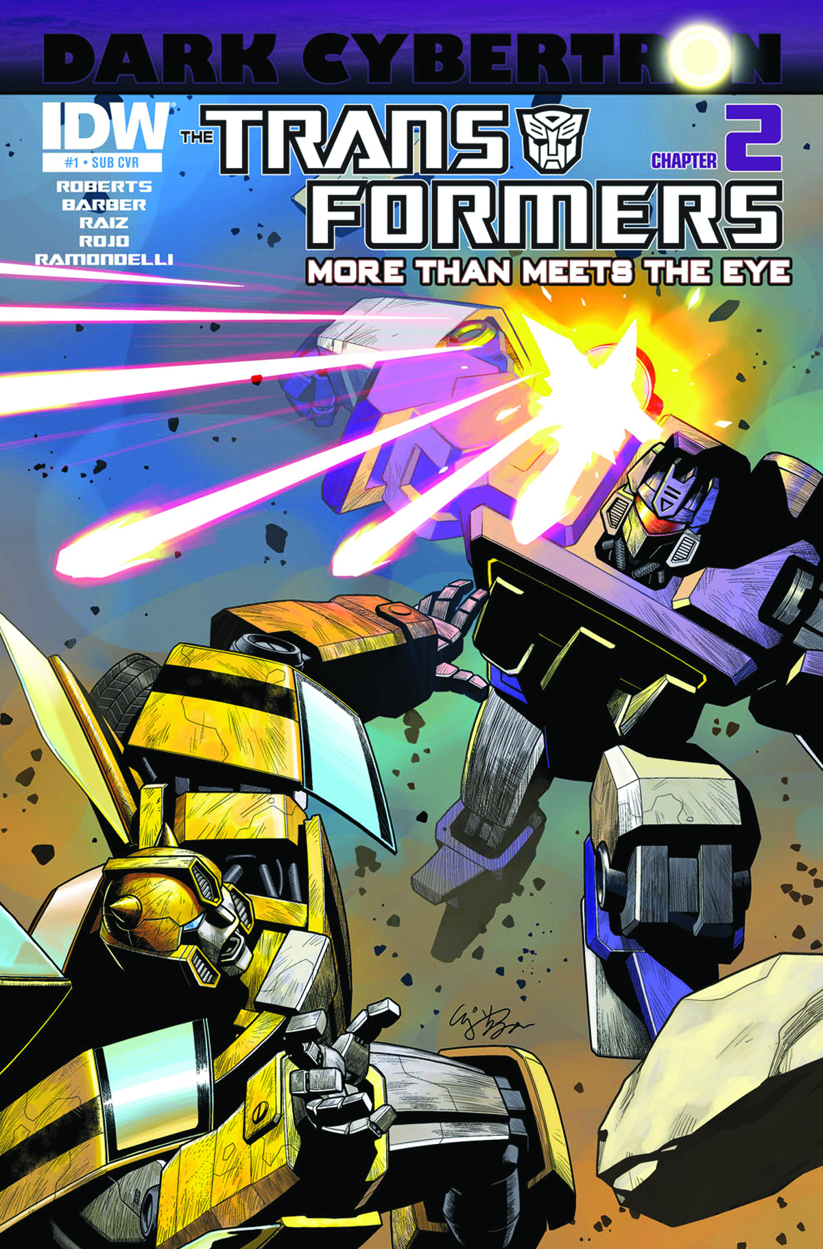 TRANSFORMERS MORE THAN MEETS EYE #23 SUBSCRIPTION VAR