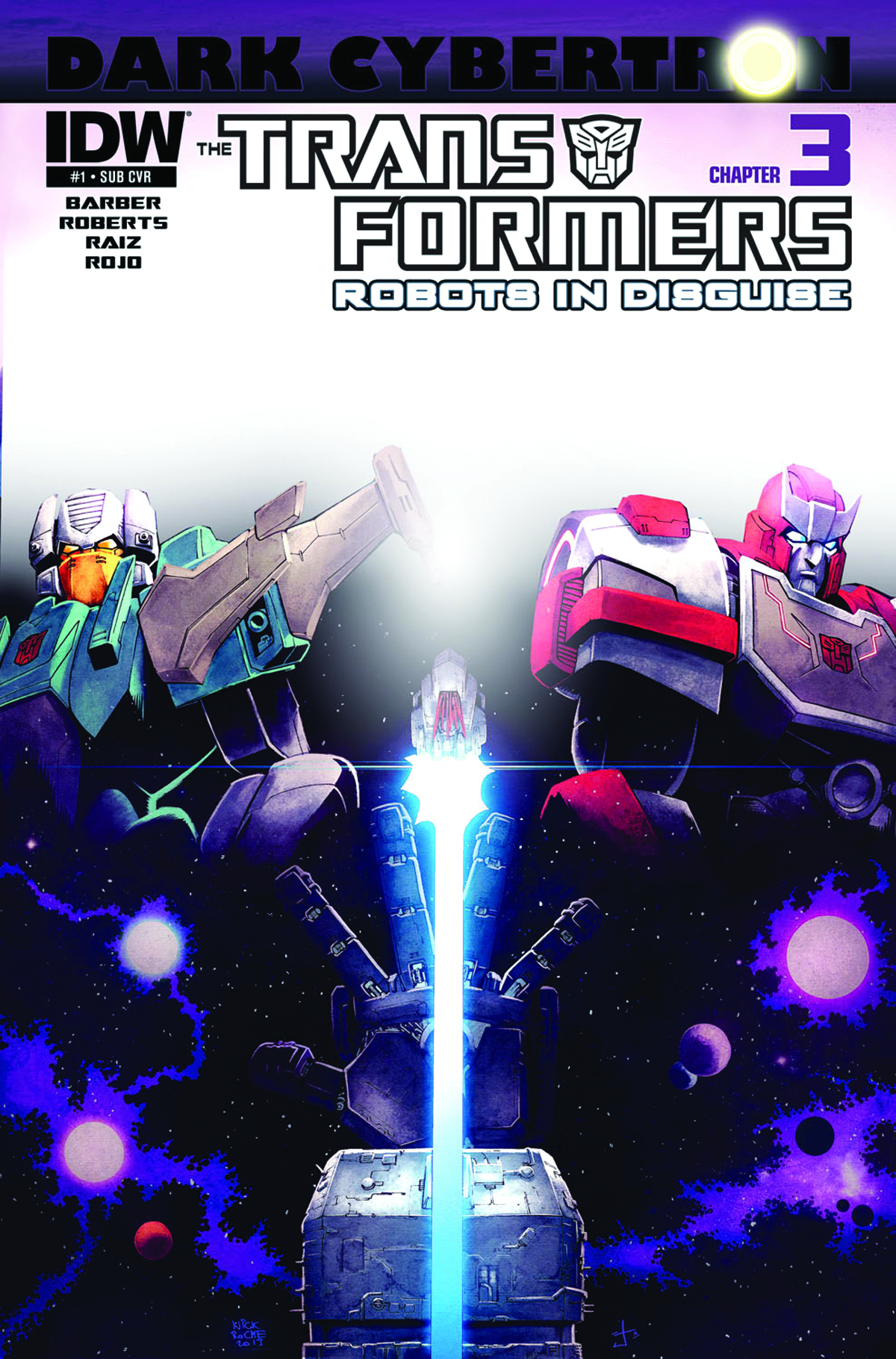 TRANSFORMERS ROBOTS IN DISGUISE #23 SUBSCRIPTION VAR