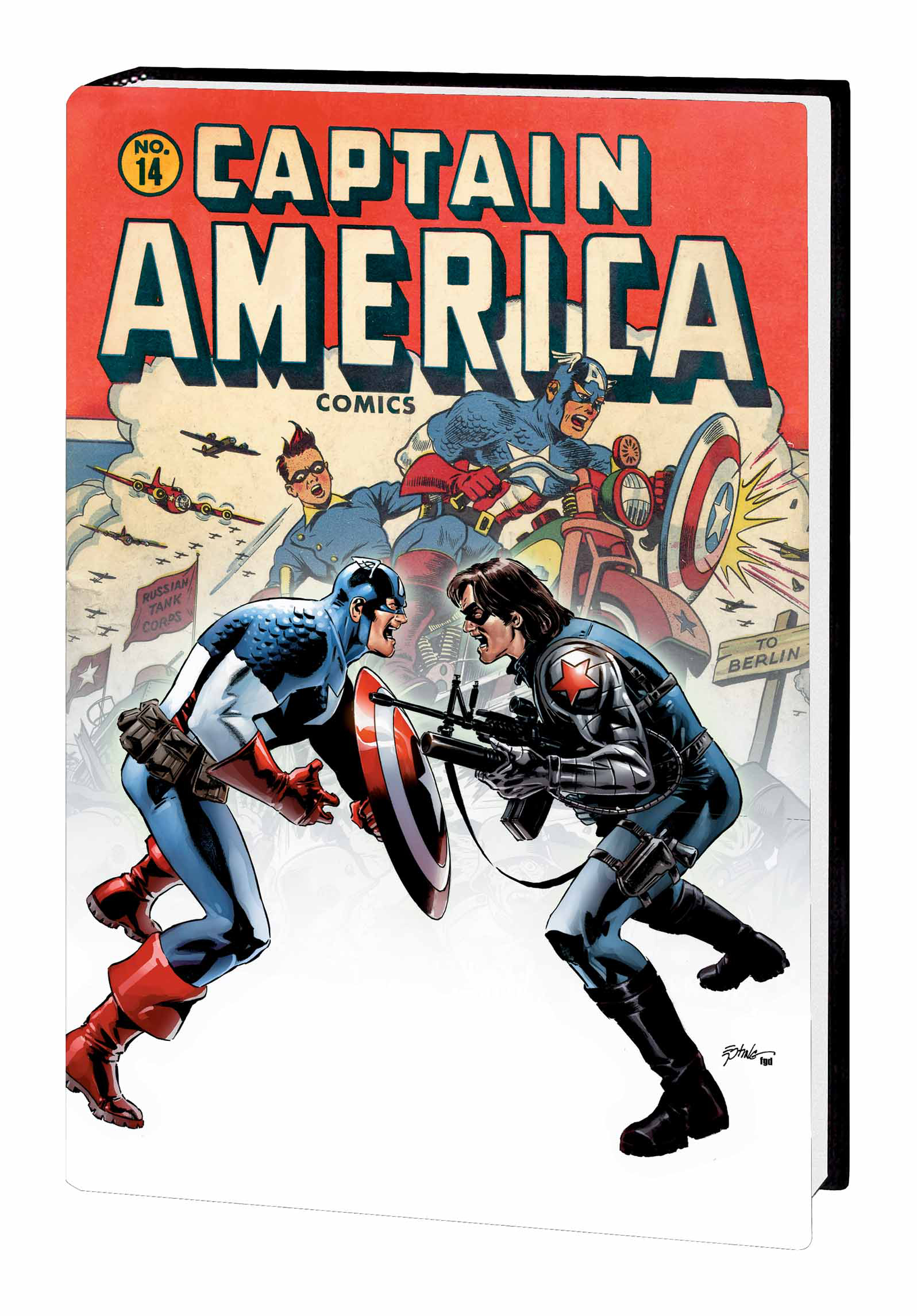 CAPTAIN AMERICA WINTER SOLDIER HC DM EPTING VAR ED