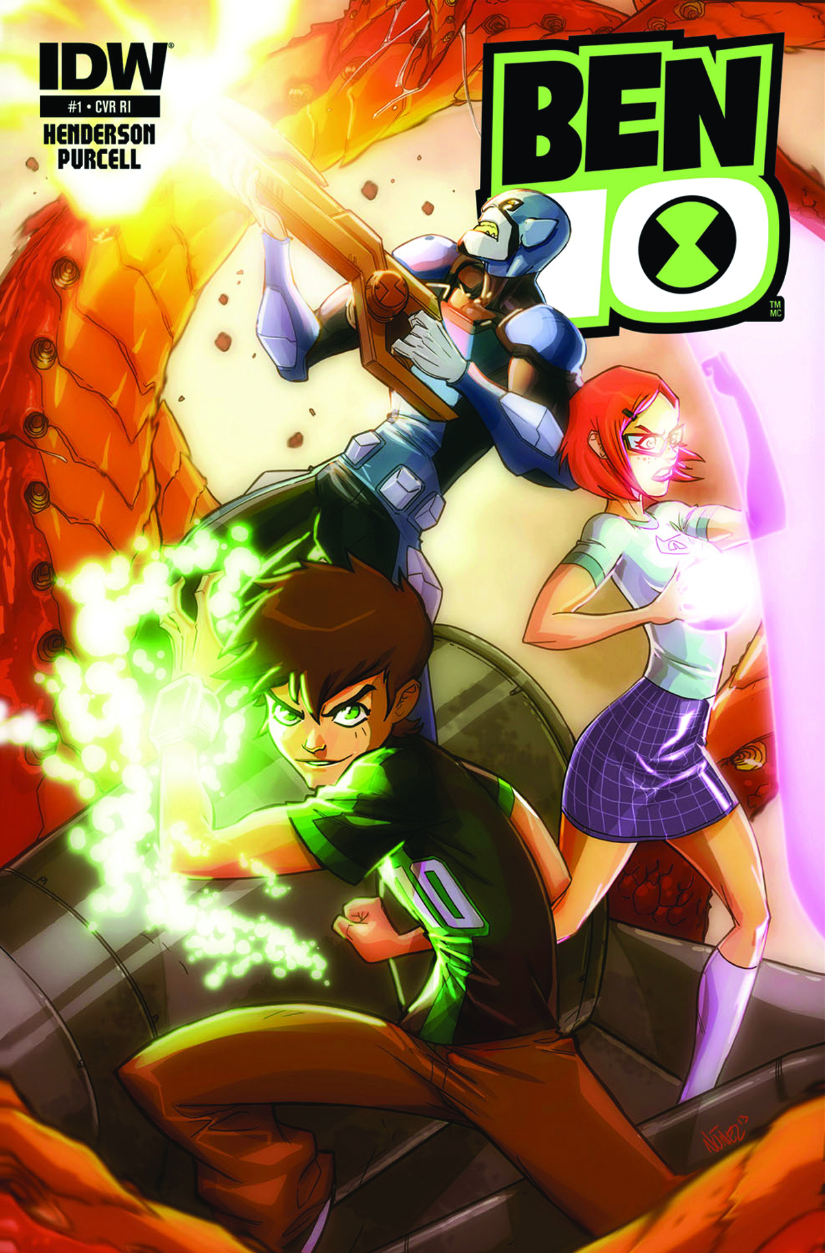 BEN 10 #1 SUBSCRIPTION VAR