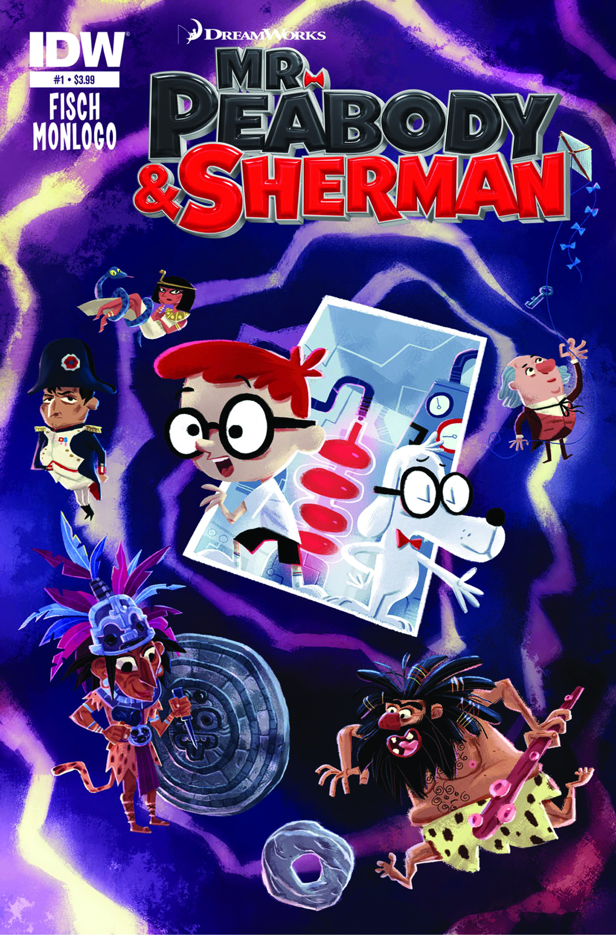 MR PEABODY & SHERMAN #1