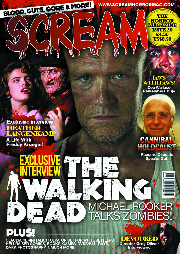 SCREAM MAGAZINE #21
