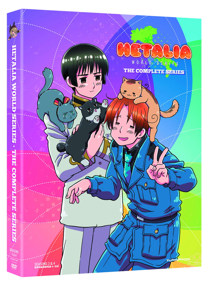 HETALIA WORLD SERIES COMP SER DVD