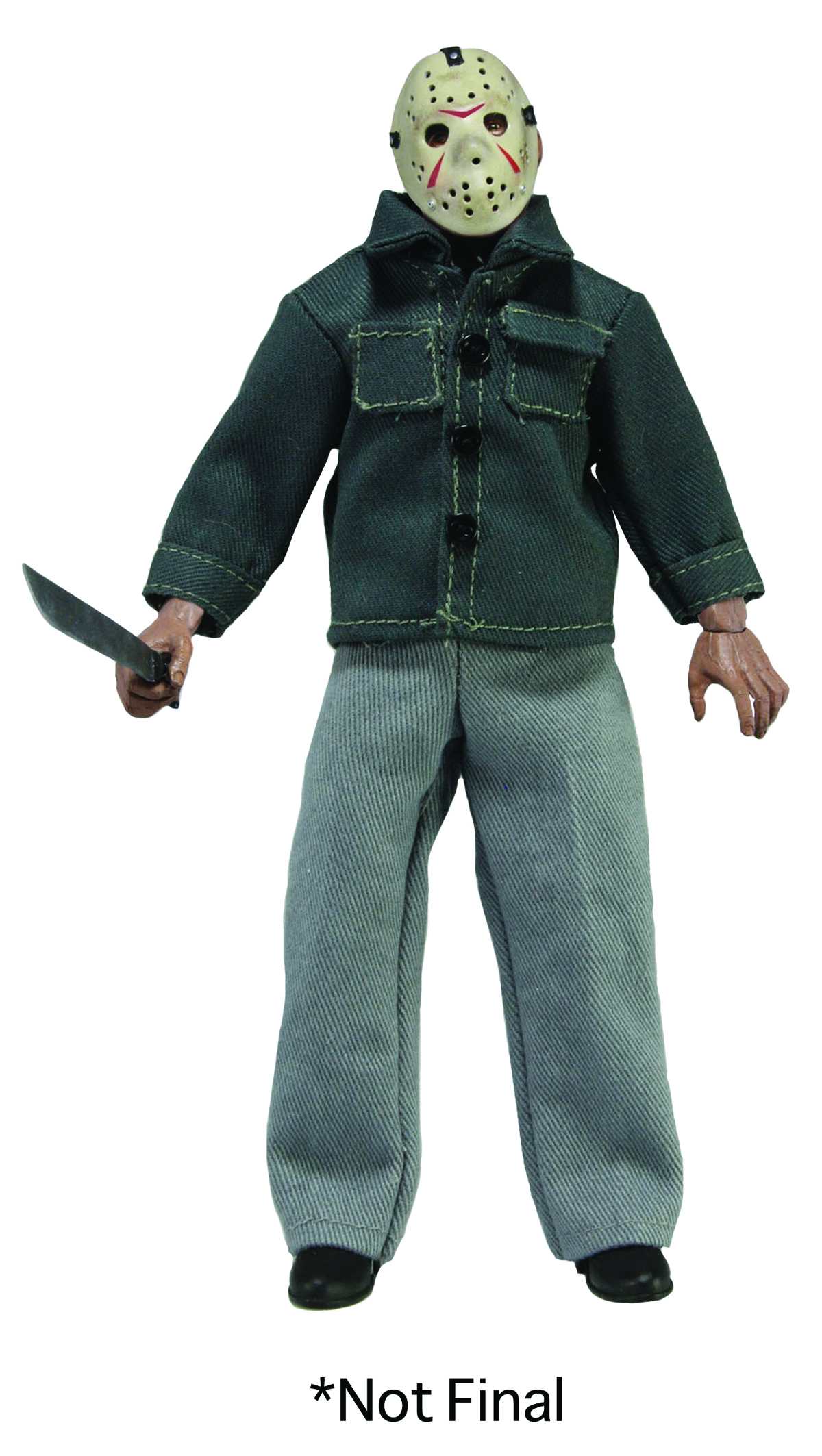 FRIDAY THE 13TH JASON 8-IN ACTION DOLL