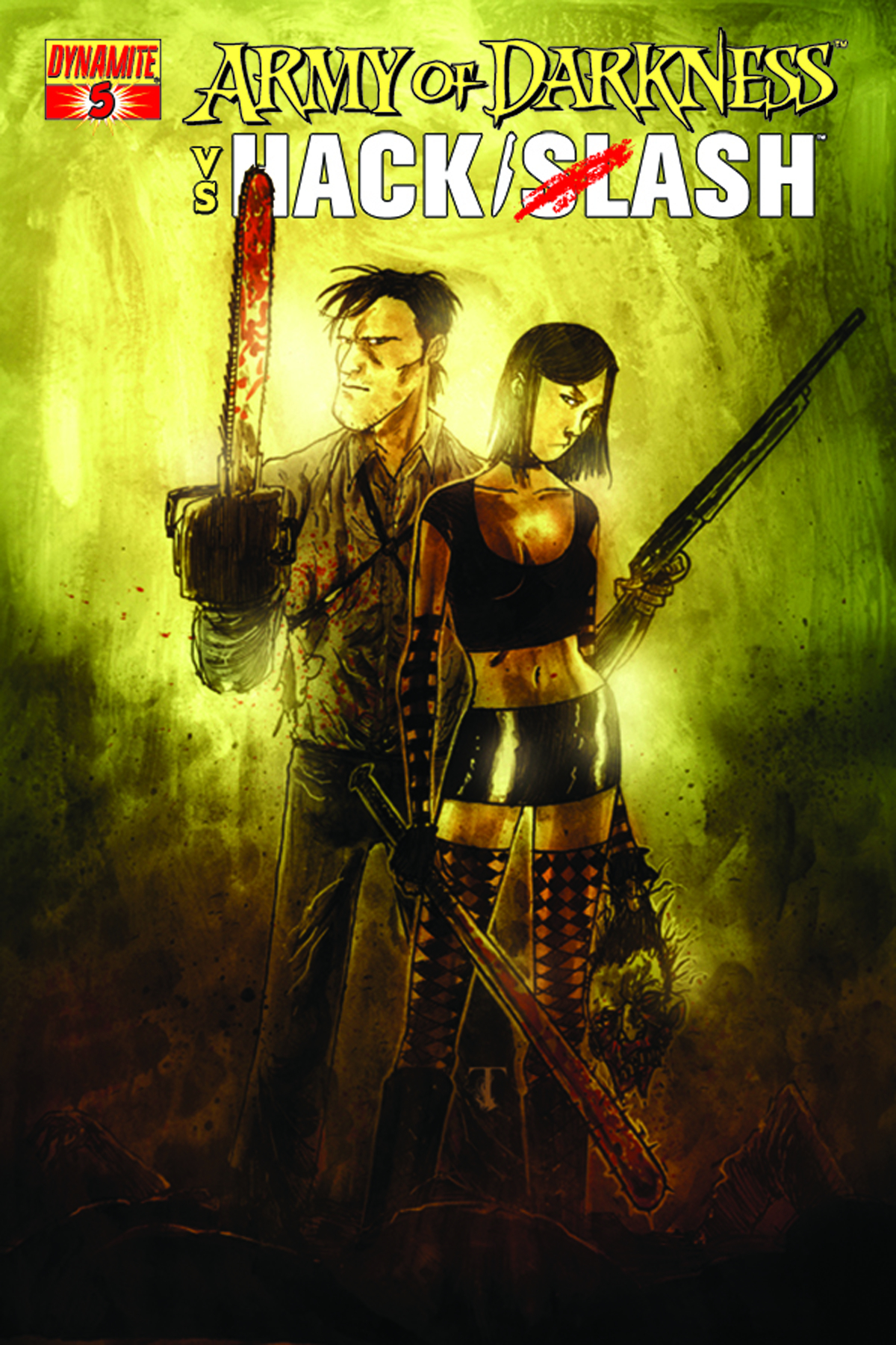 ARMY OF DARKNESS VS HACK SLASH #5