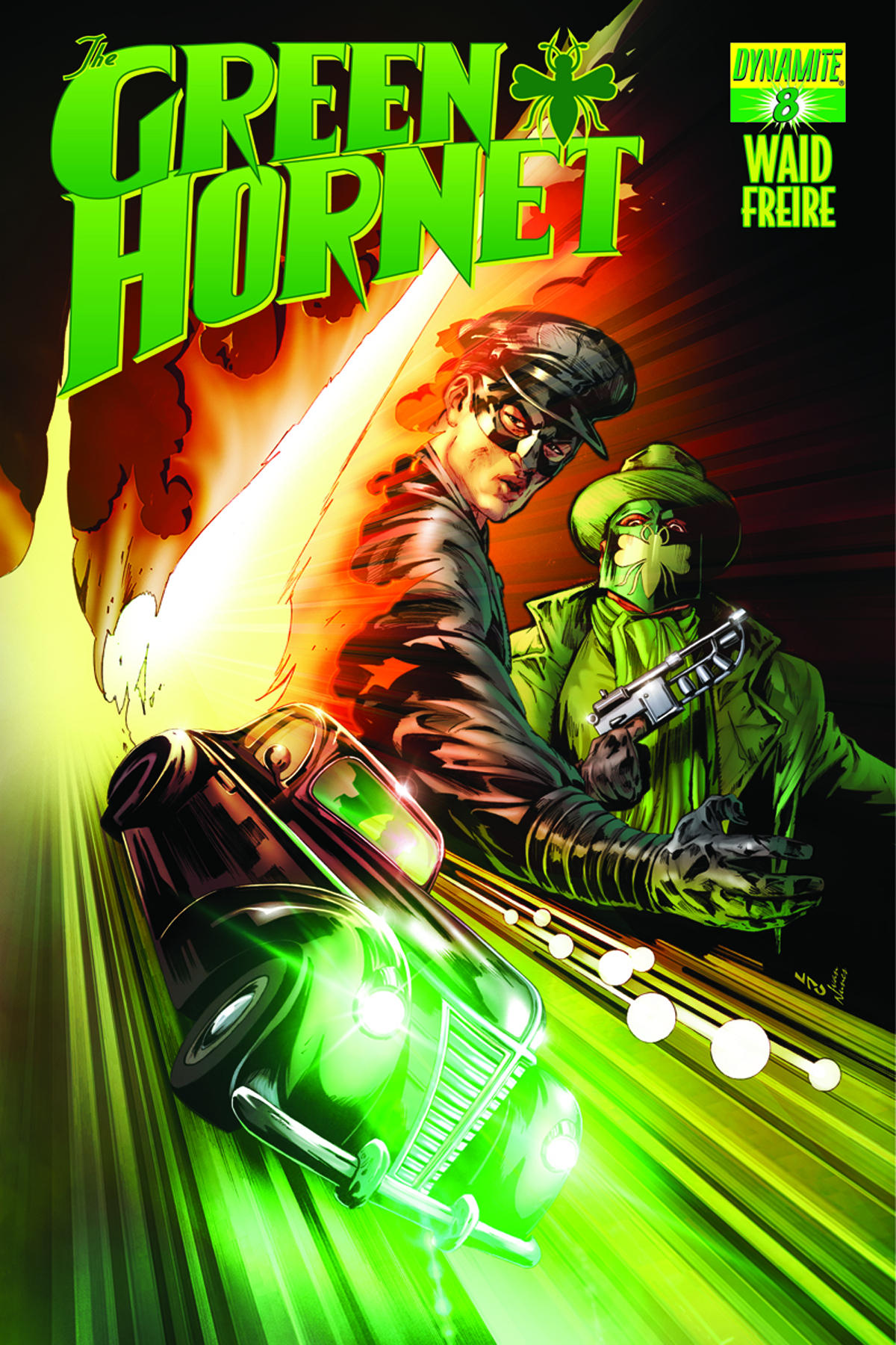 MARK WAID GREEN HORNET #8 LAU SUBCRIPTION VARIANT