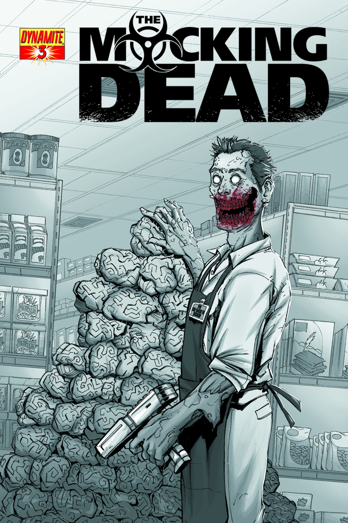 MOCKING DEAD #3 DUNBAR SUBSCRIPTION VAR