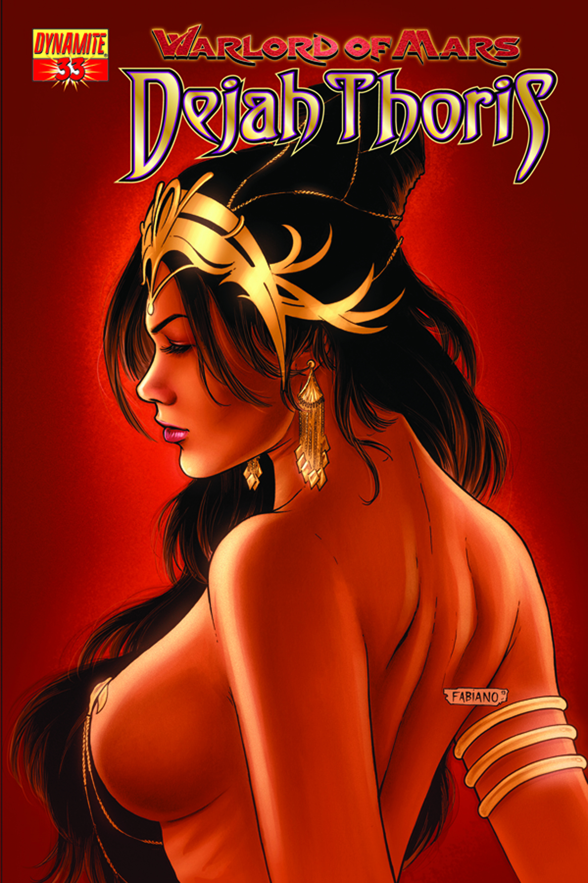 WARLORD OF MARS DEJAH THORIS #33 25 COPY RUBI RISQUE INCV