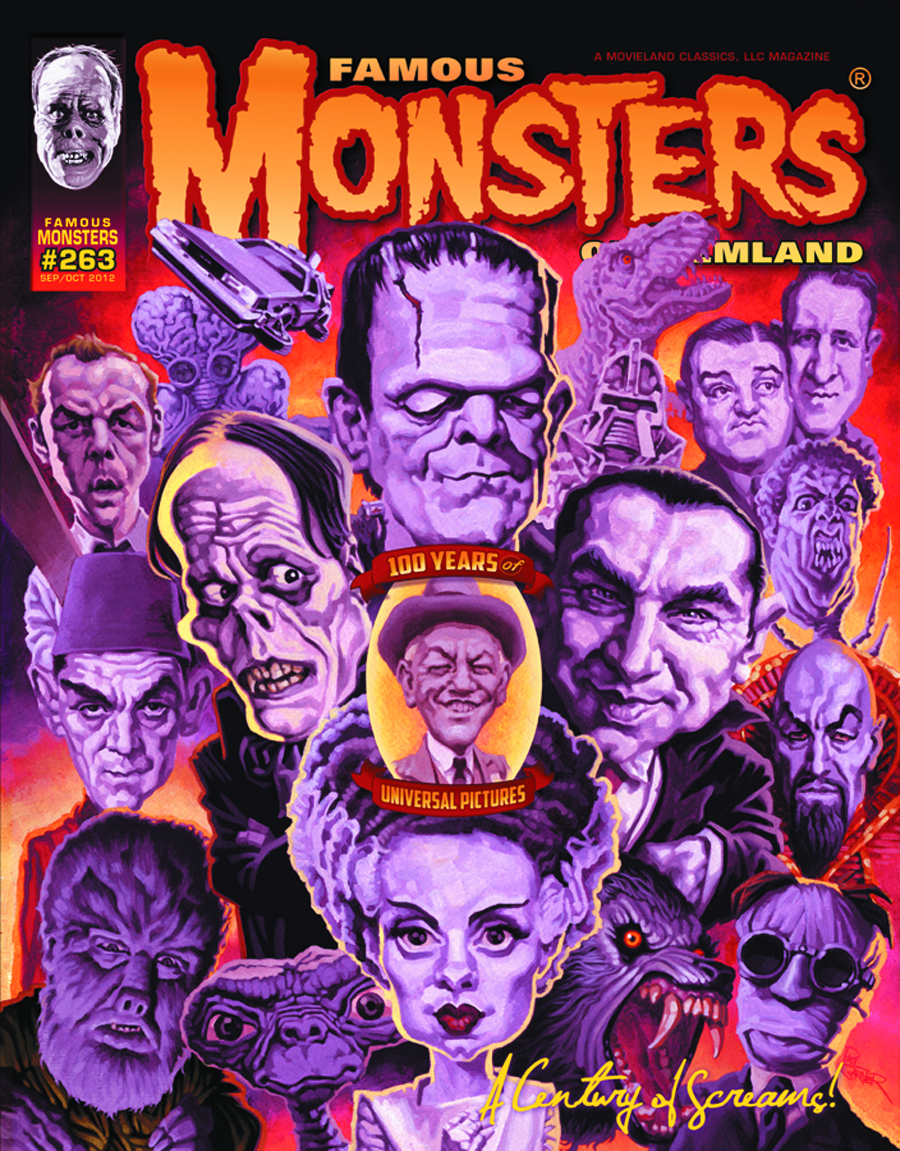 FAMOUS MONSTERS OF FILMLAND #263 100 YEARS OF UNIVERSAL CVR