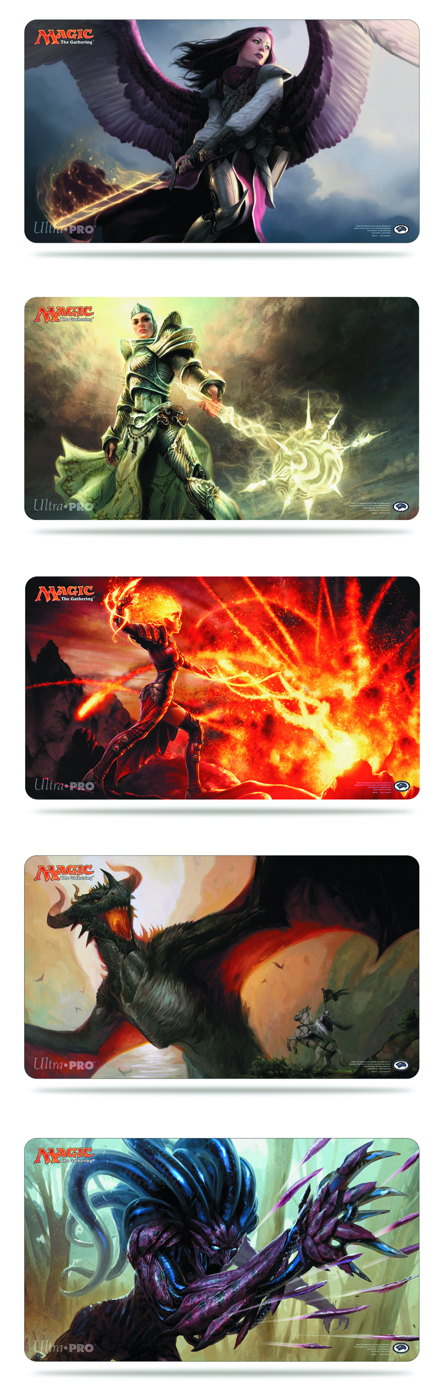 UP MTG 2014 PLAYMAT 5 12 PC CASE
