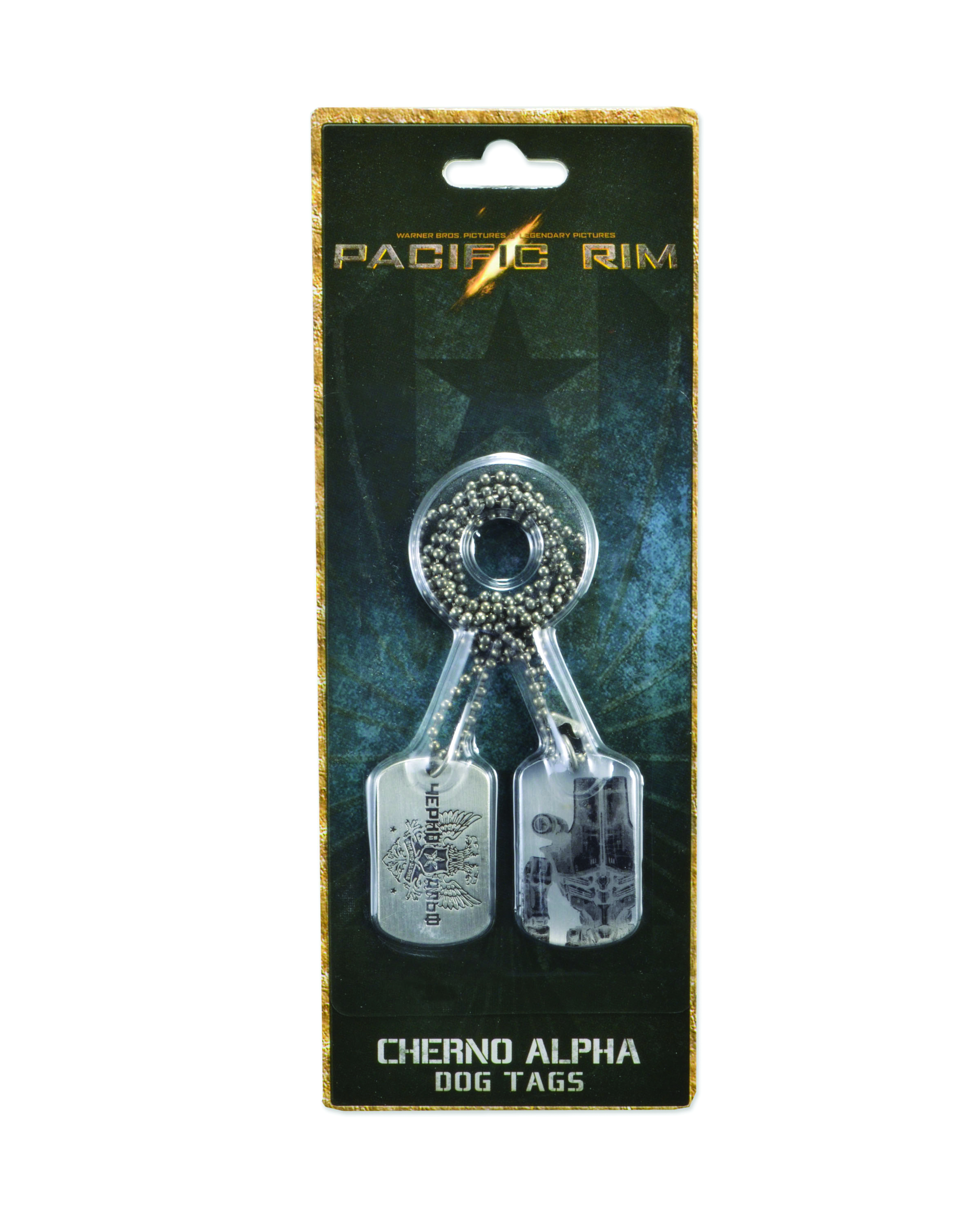 PACIFIC RIM CHERNO ALPHA DOG TAGS
