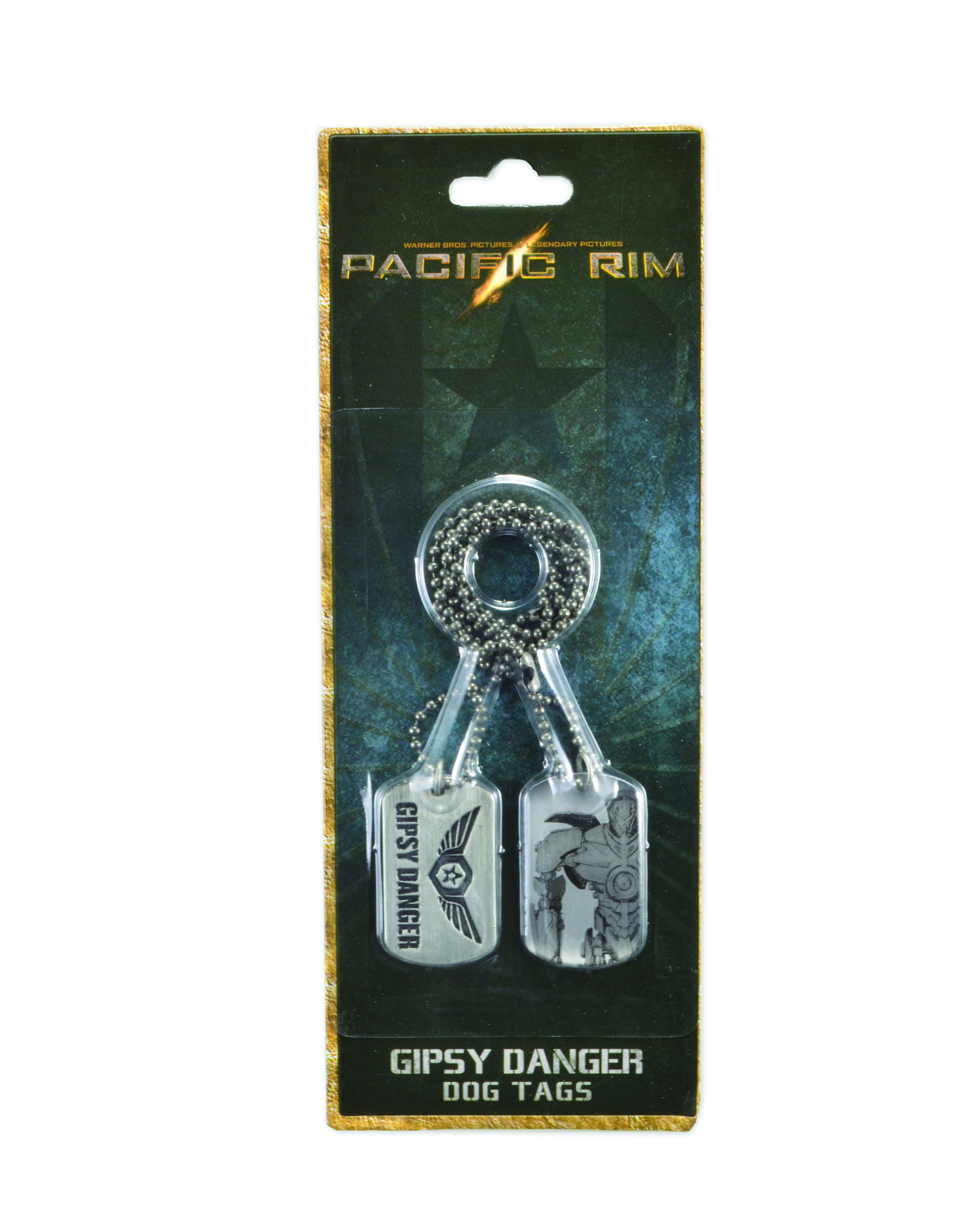 PACIFIC RIM GIPSY DANGER DOG TAGS