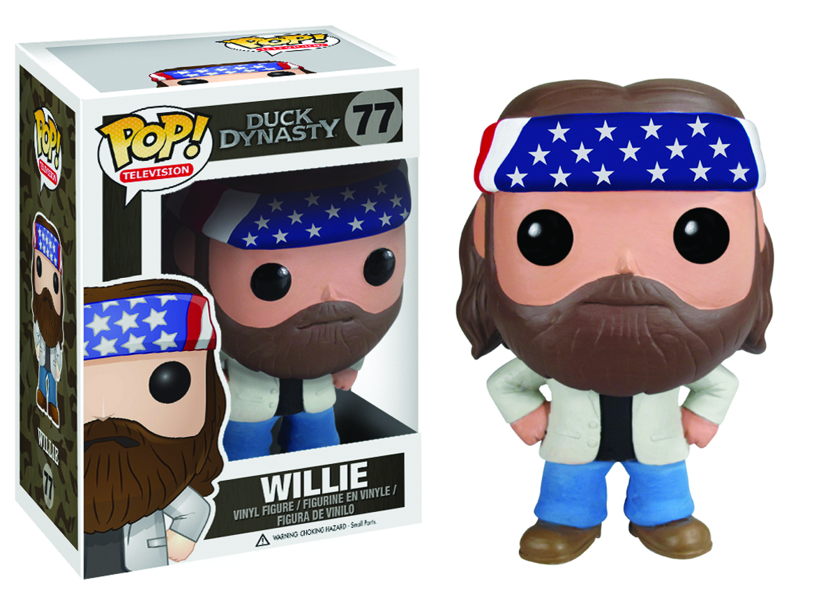 POP DUCK DYNASTY WILLIE VINYL FIG