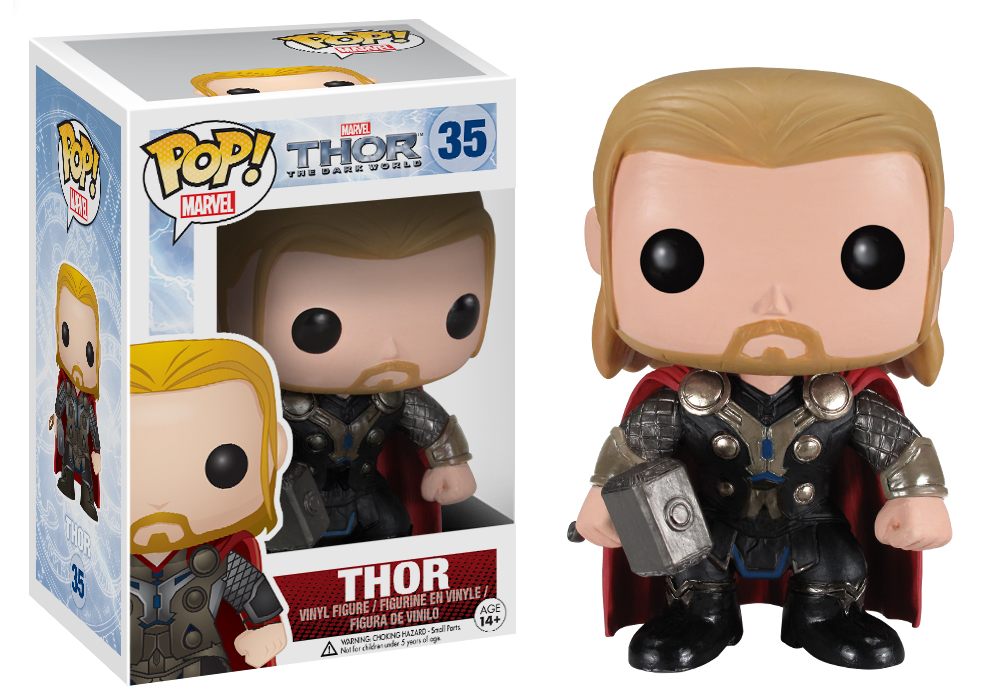 POP THOR DARK WORLD THOR VINYL FIG