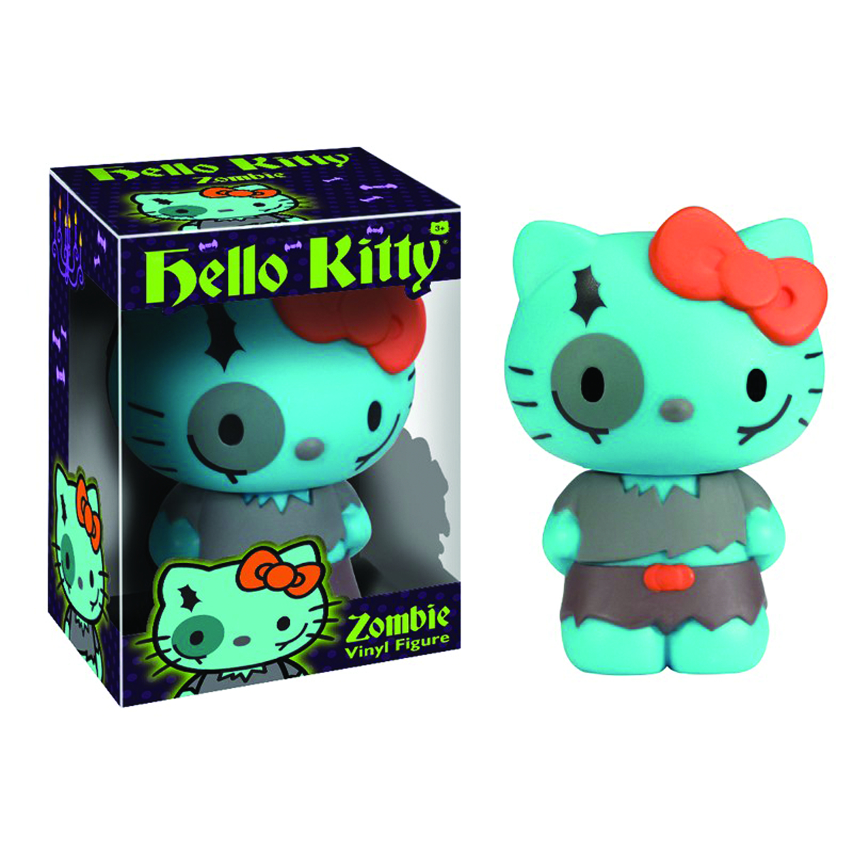HELLO KITTY ZOMBIE VINYL FIG