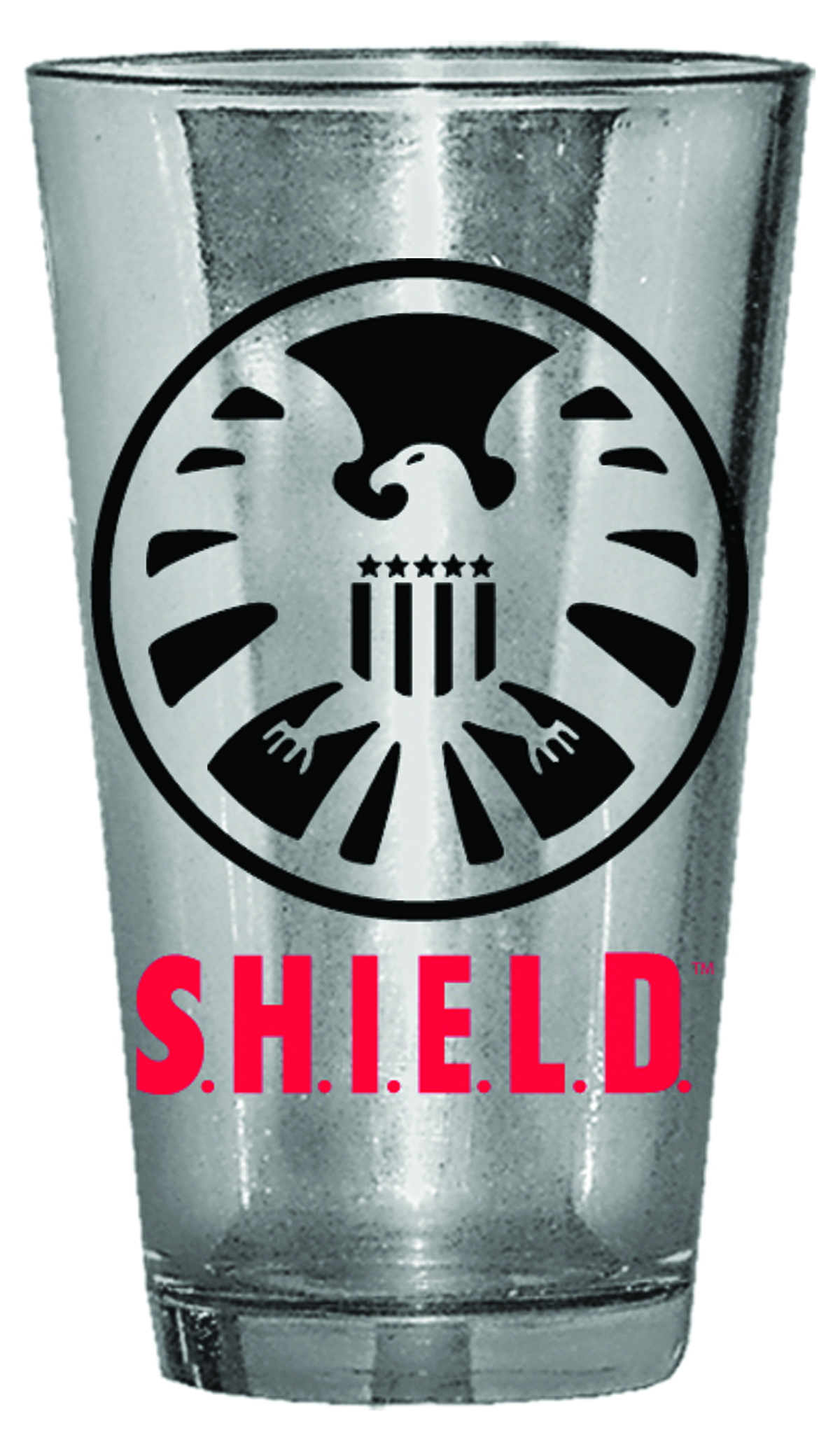 SHIELD LOGO 16OZ PUB GLASS