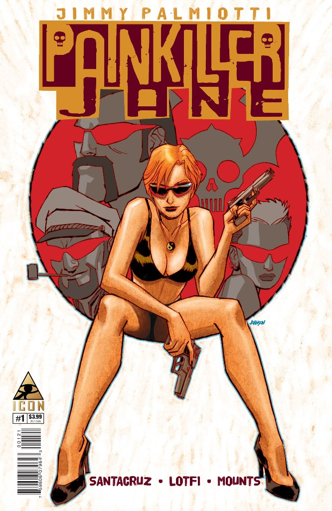 PAINKILLER JANE PRICE OF FREEDOM #1 (OF 4) JOHNSON VAR