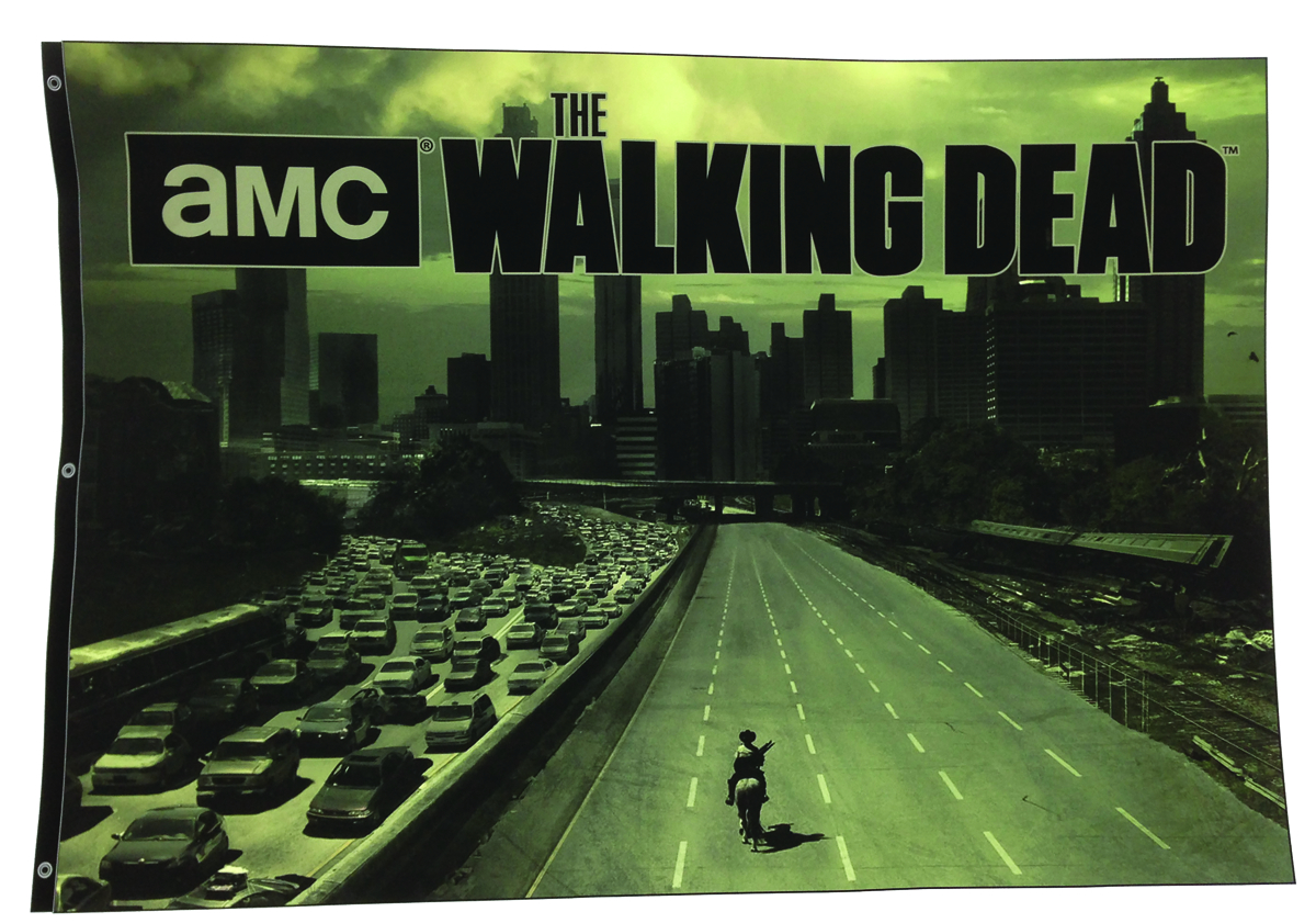 WALKING DEAD TV HIGHWAY BANNER