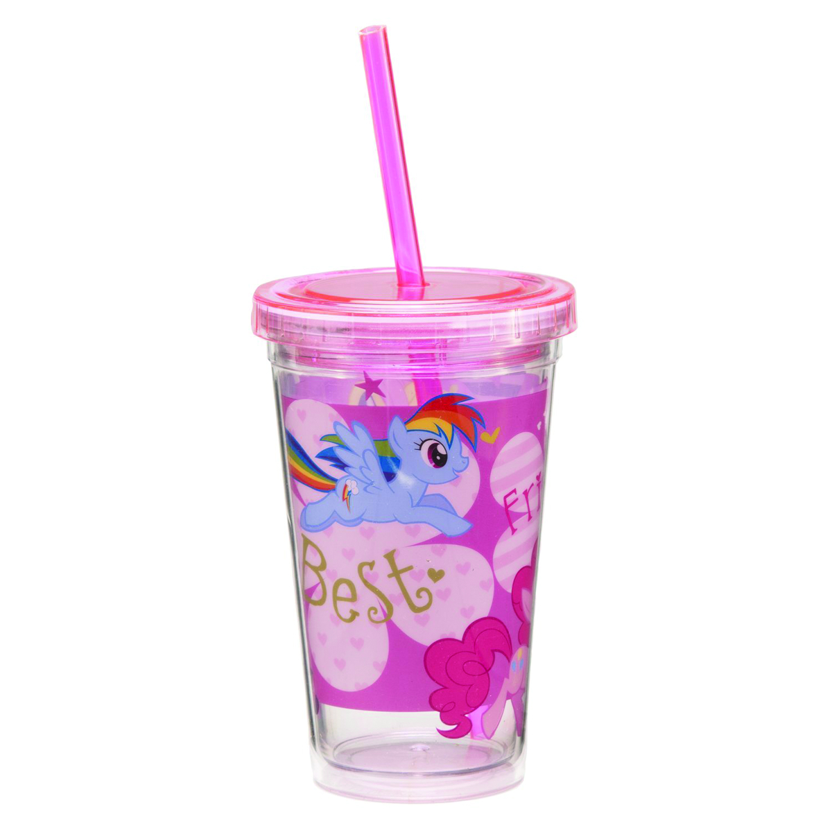 MY LITTLE PONY 12OZ ACRYLIC TRAVEL CUP