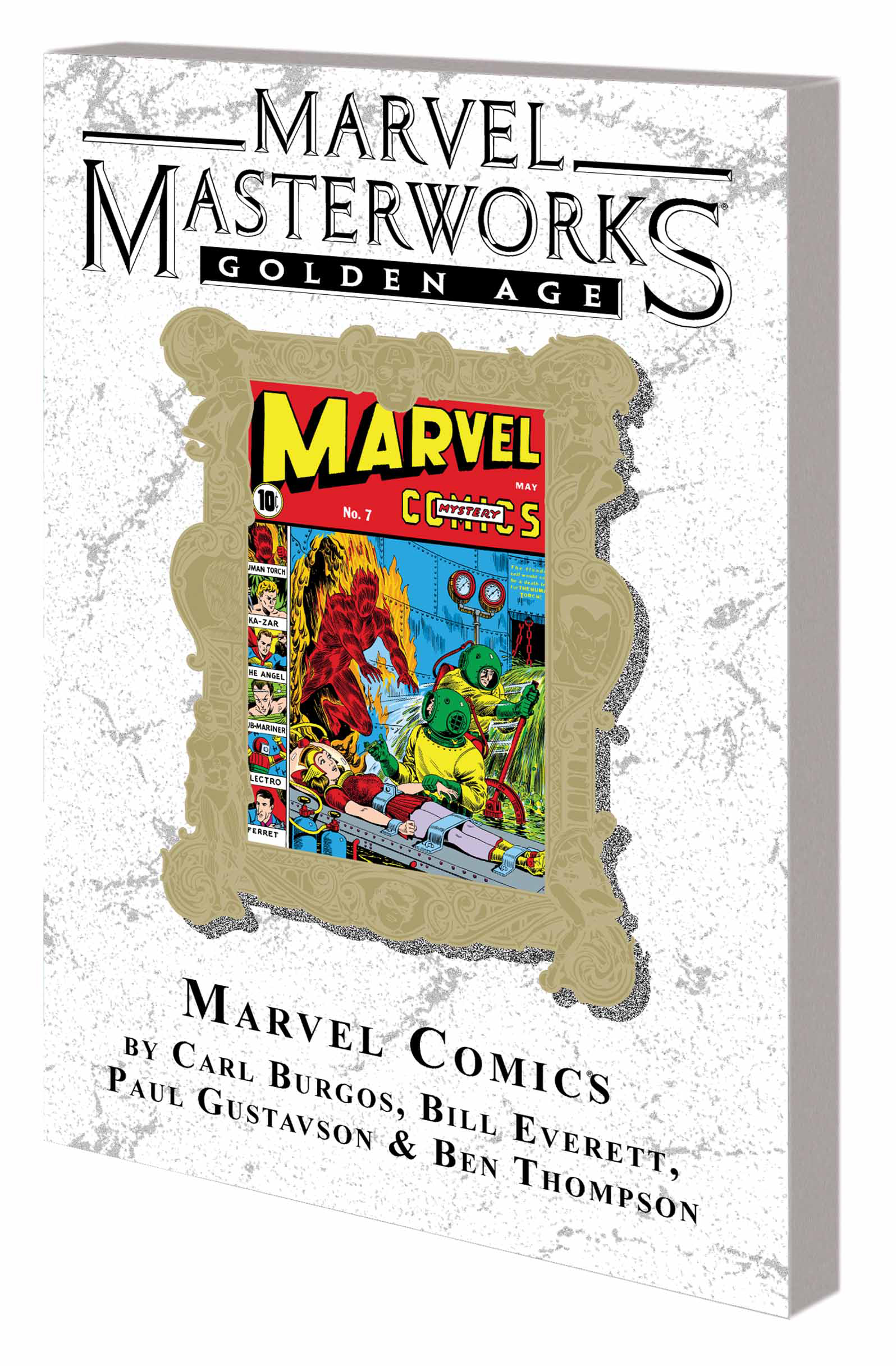 MMW GOLDEN AGE MARVEL COMICS TP VOL 02 DM VAR ED 60