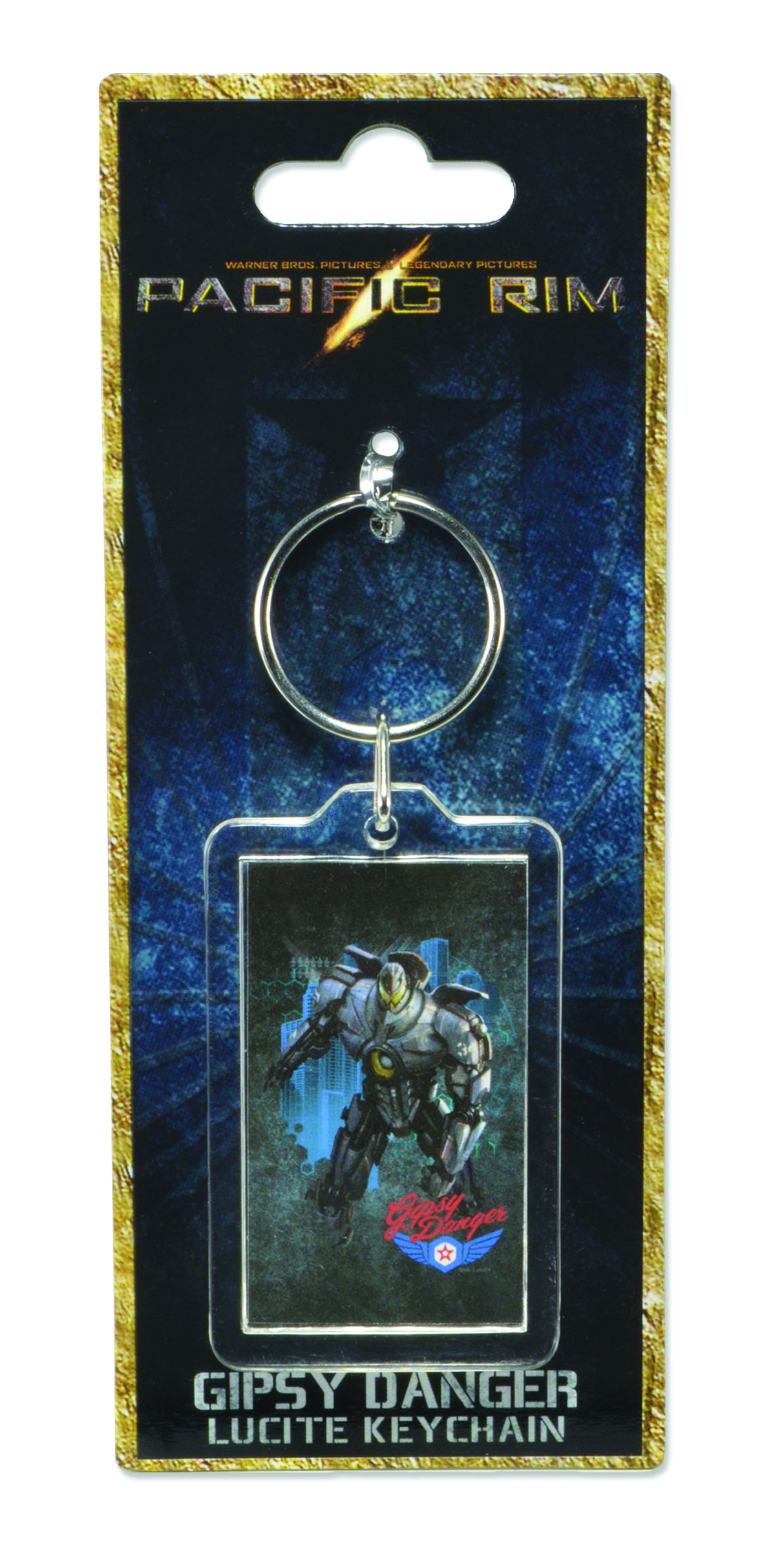PACIFIC RIM GIPSY DANGER LUCITE KEYCHAIN